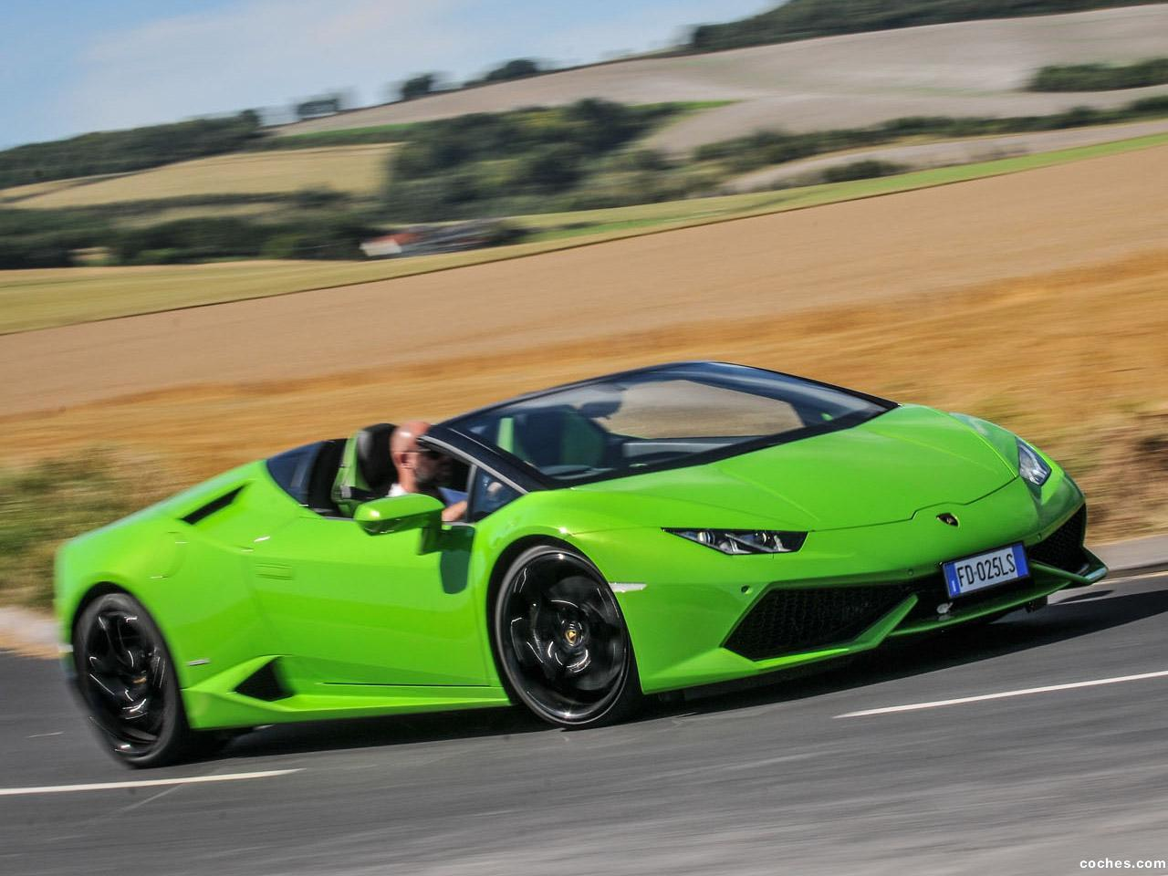 Foto 0 de Lamborghini Huracan LP610-4 Spyder LB724 UK  2016