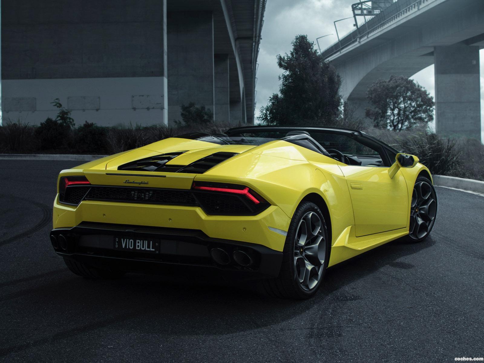 Foto 3 de Lamborghini Huracan Spyder Australia  2017