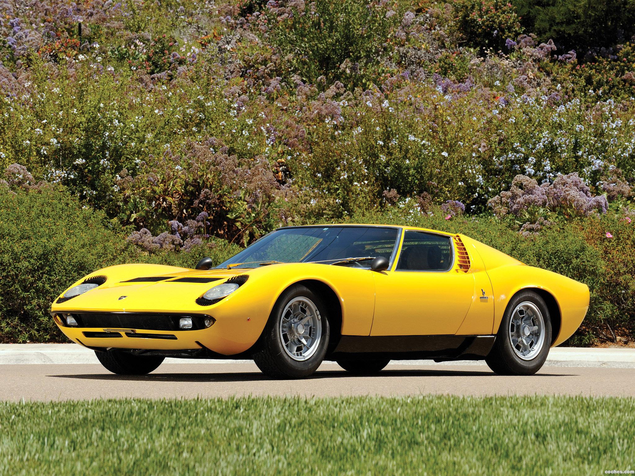 Foto 0 de Lamborghini Miura P400 S 1969