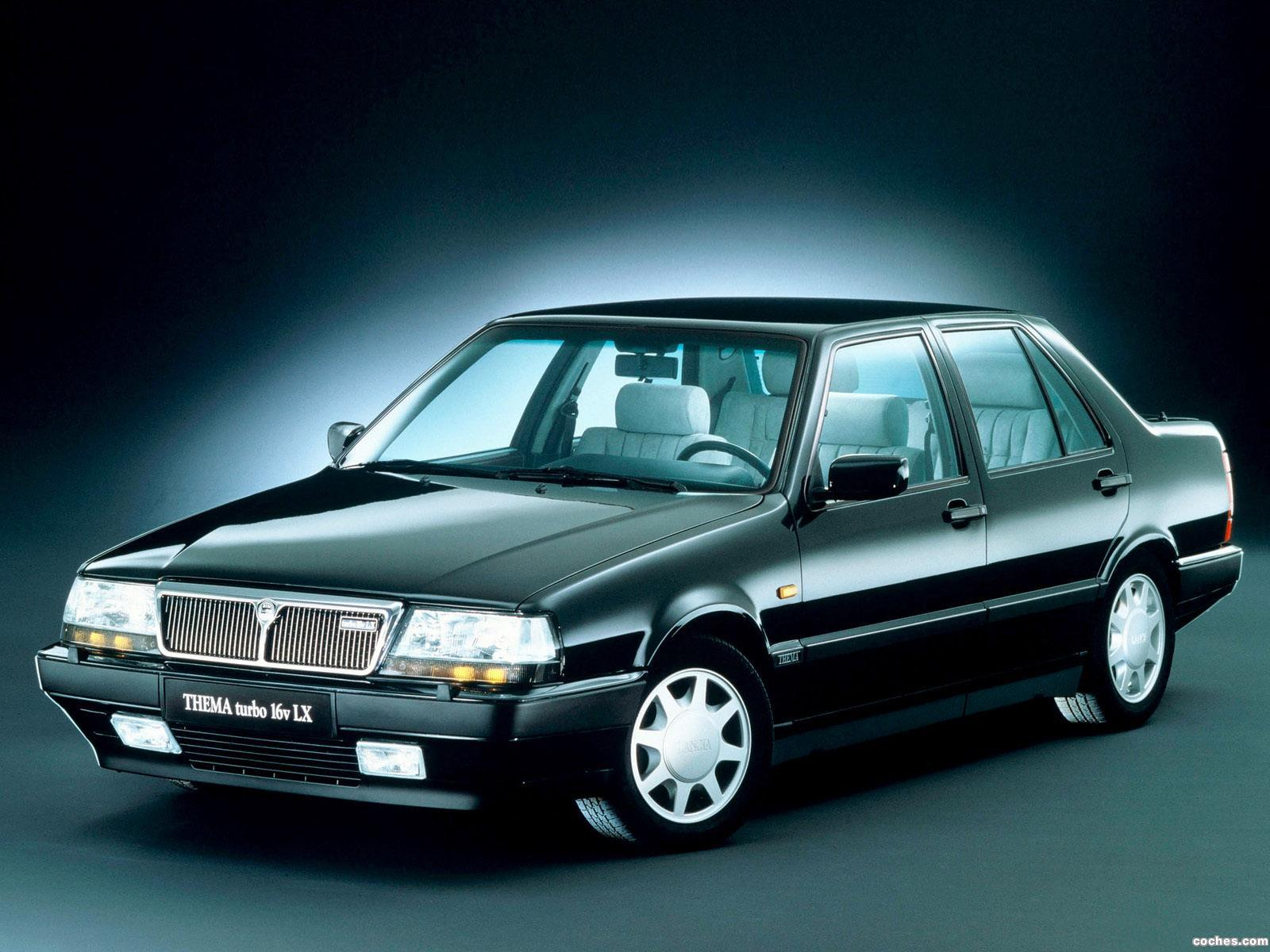 Foto 0 de Lancia Thema Turbo 16V 1988
