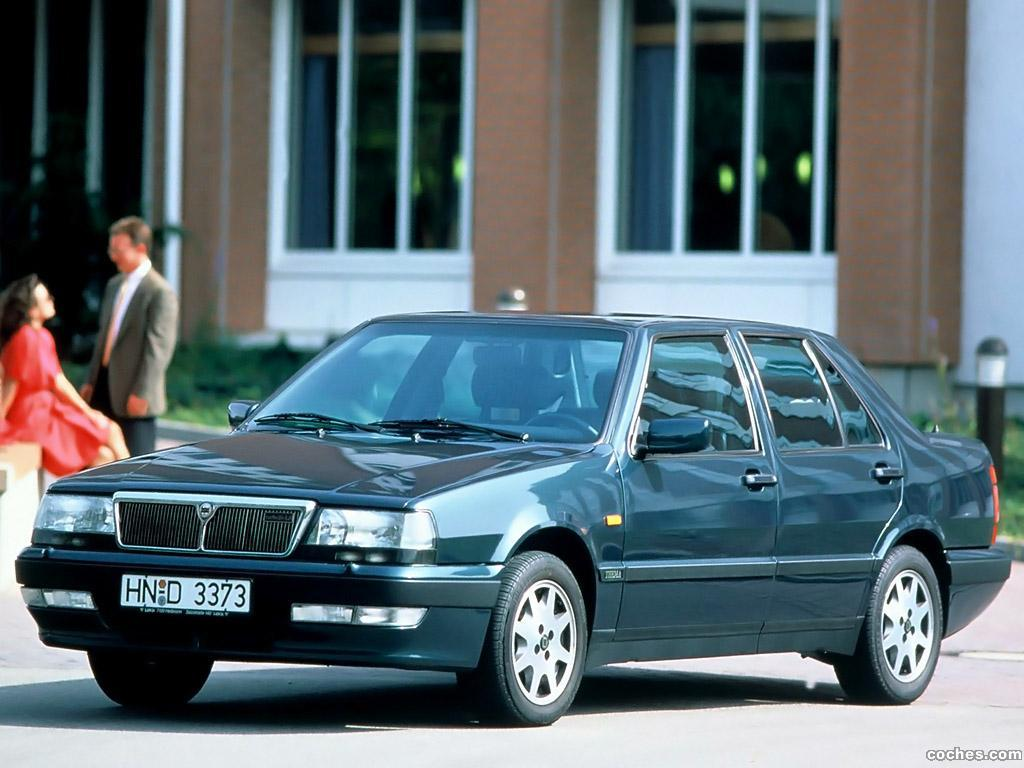 Foto 0 de Lancia Thema Turbo 16V 1992