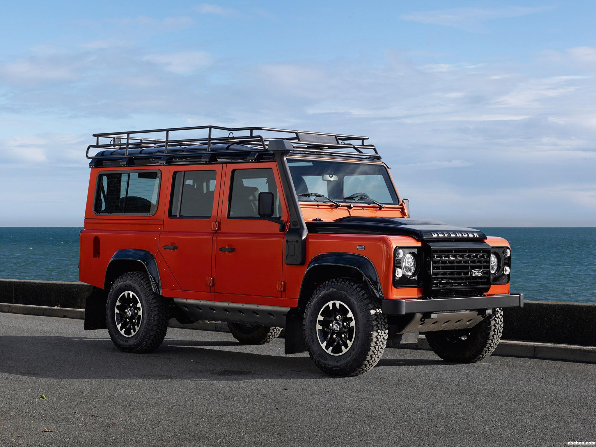Foto 0 de Land Rover Defender 110 Adventure 2015