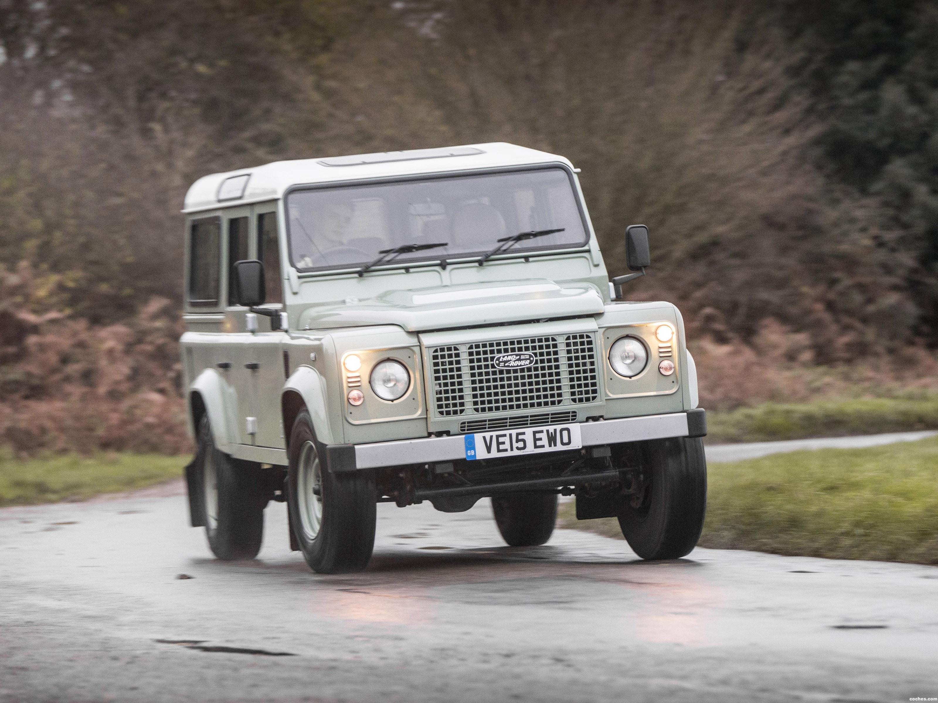 Foto 0 de Land Rover Defender 110 Heritage UK 2015
