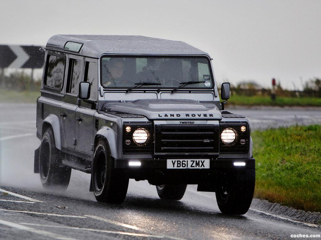 Foto 2 de Defender 110 Station Wagon Twisted 2012