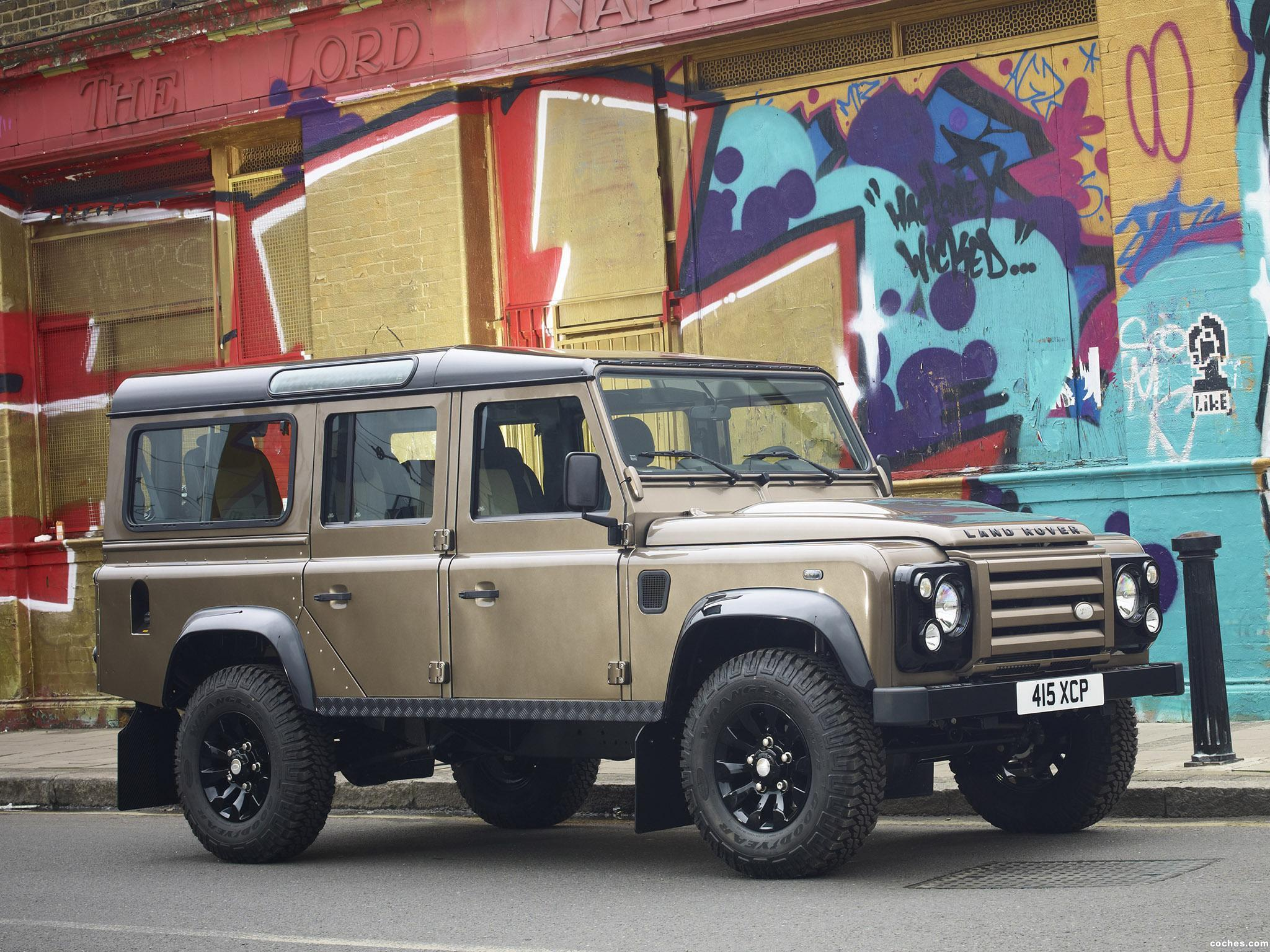 Foto 0 de Defender 110 Station Wagon X-Tech Edition 2011