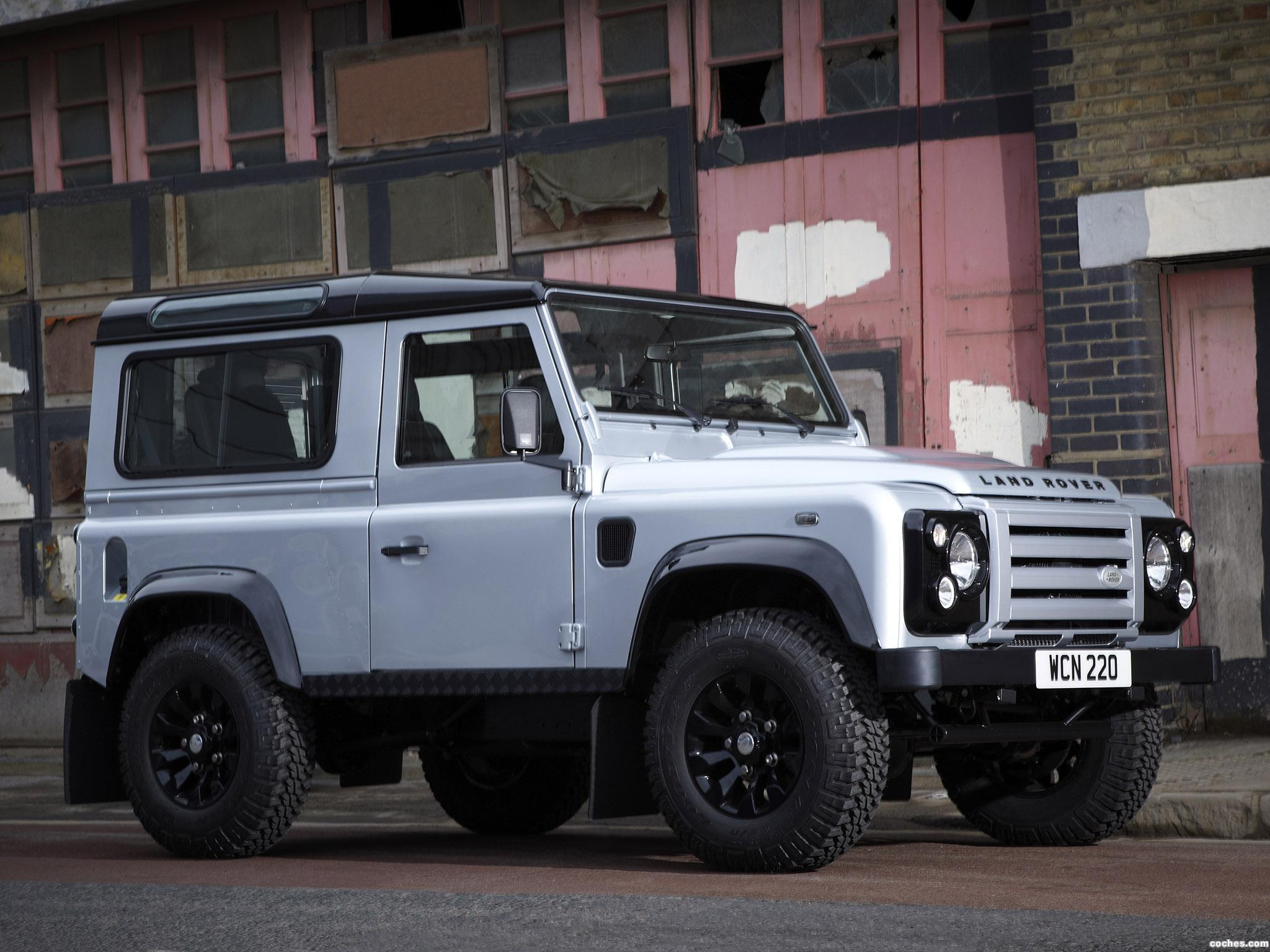 Foto 0 de Land Rover Defender 90 Hard Top X-Tech Edition 2011