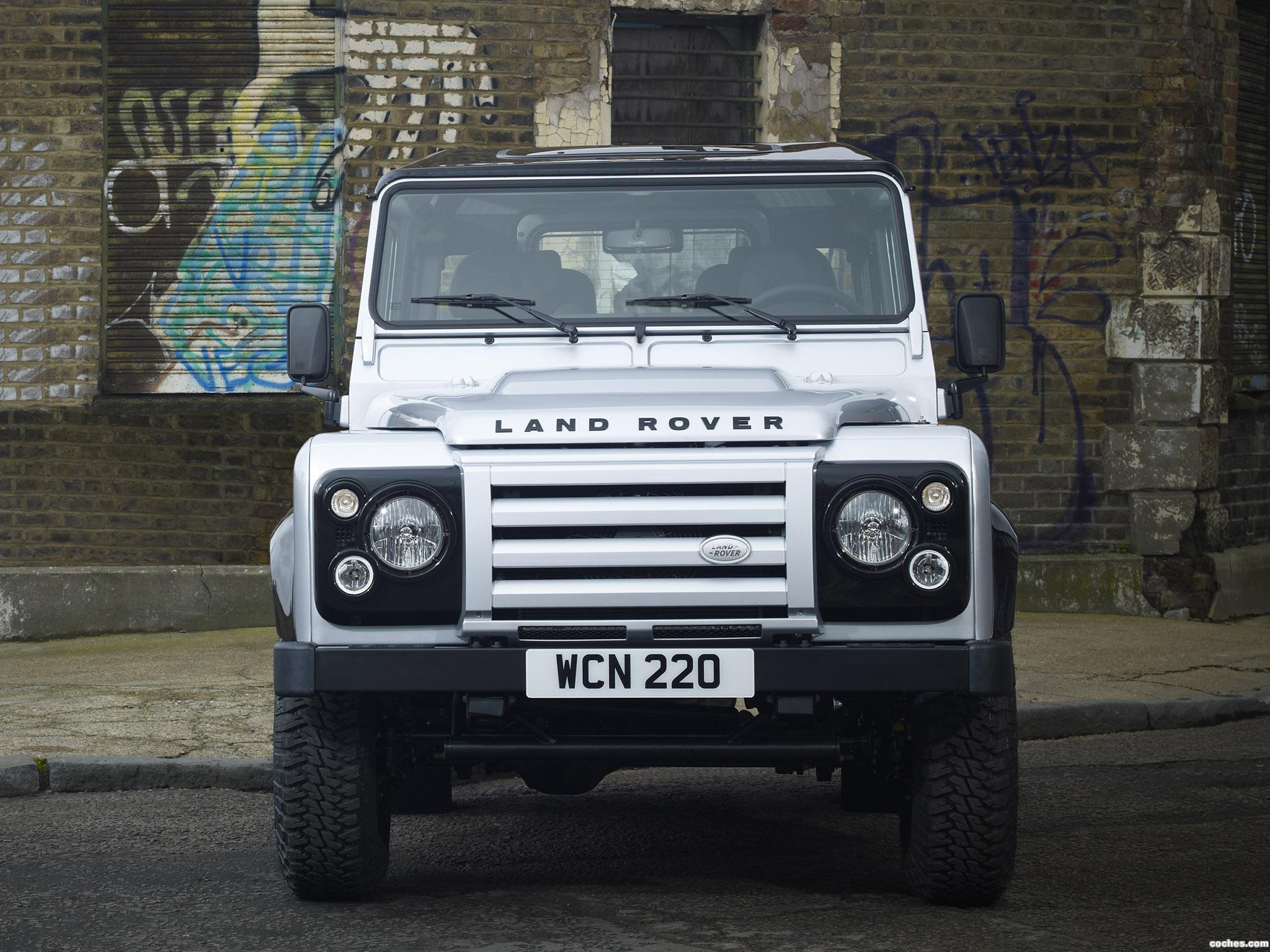 Foto 4 de Land Rover Defender 90 Hard Top X-Tech Edition 2011