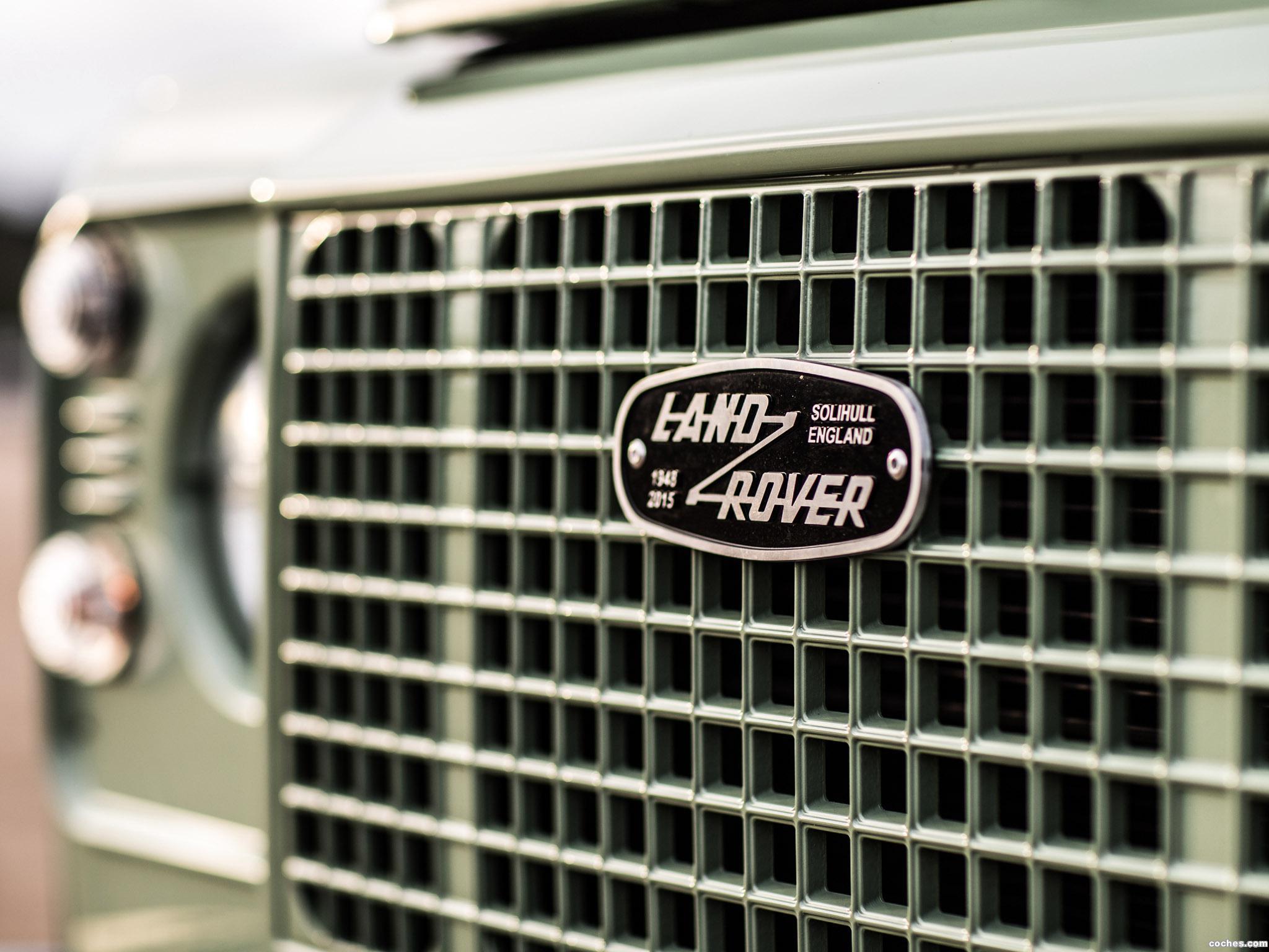 Foto 6 de Land Rover Defender 90 Heritage 2015
