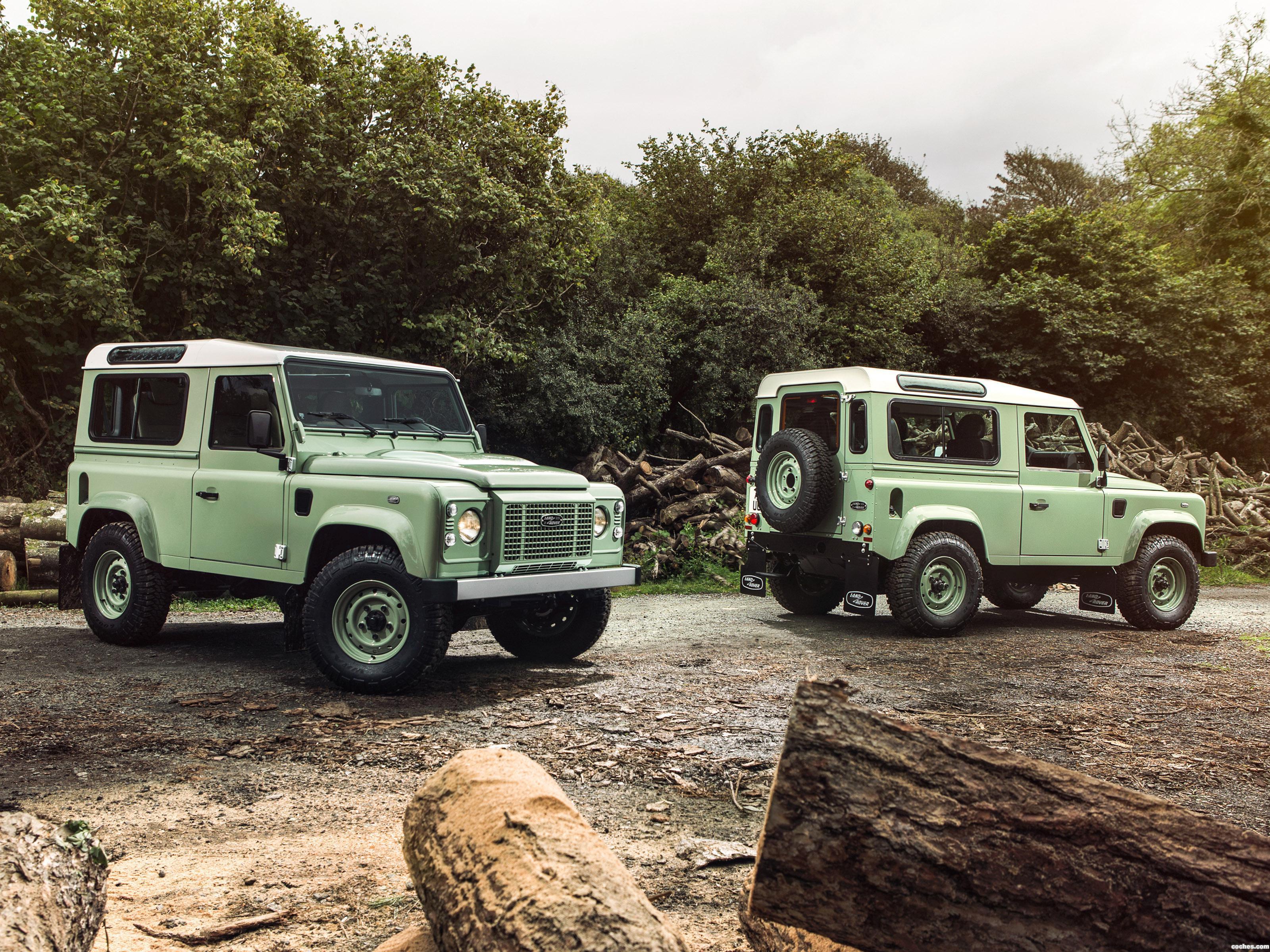 Foto 3 de Land Rover Defender 90 Heritage 2015
