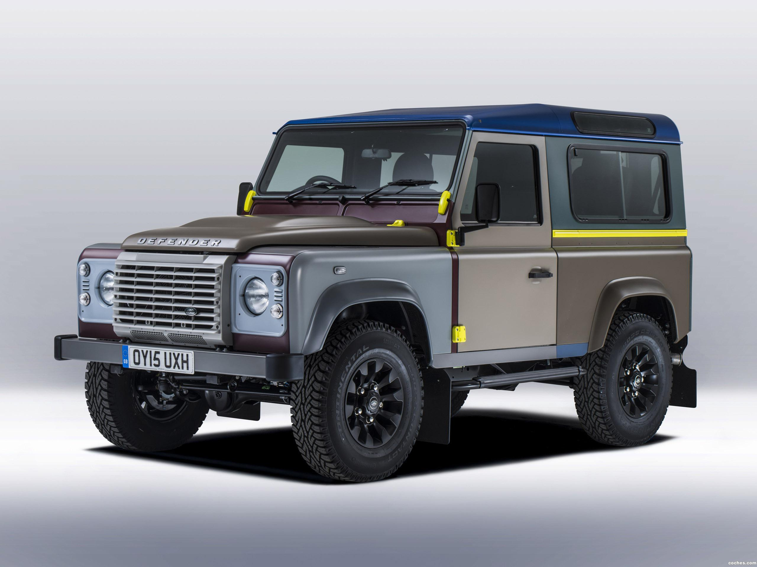 Foto 0 de Land Rover Defender 90 by Paul Smith 2015