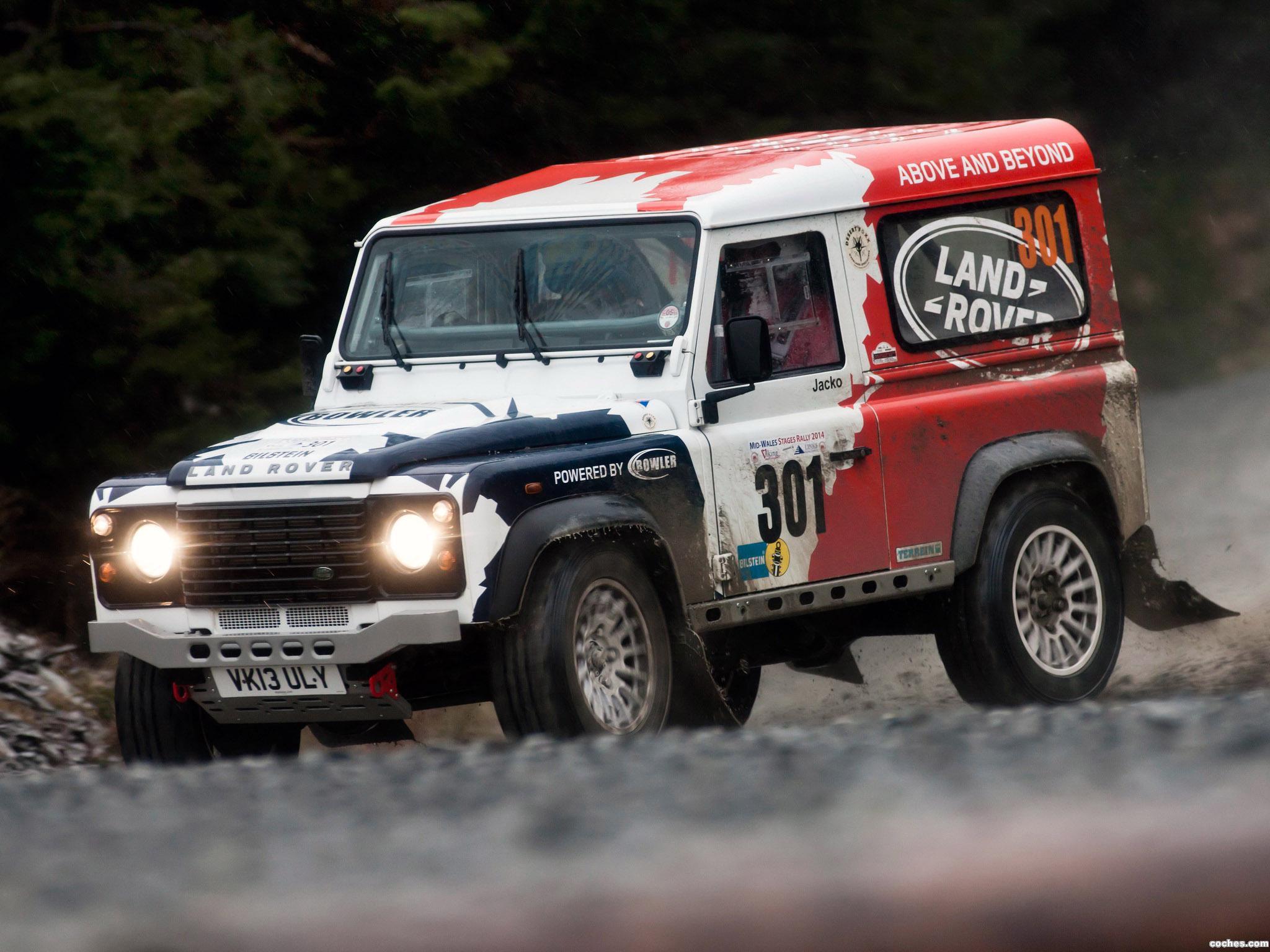 Foto 7 de Land Rover Defender Challenge by Bowler 2014