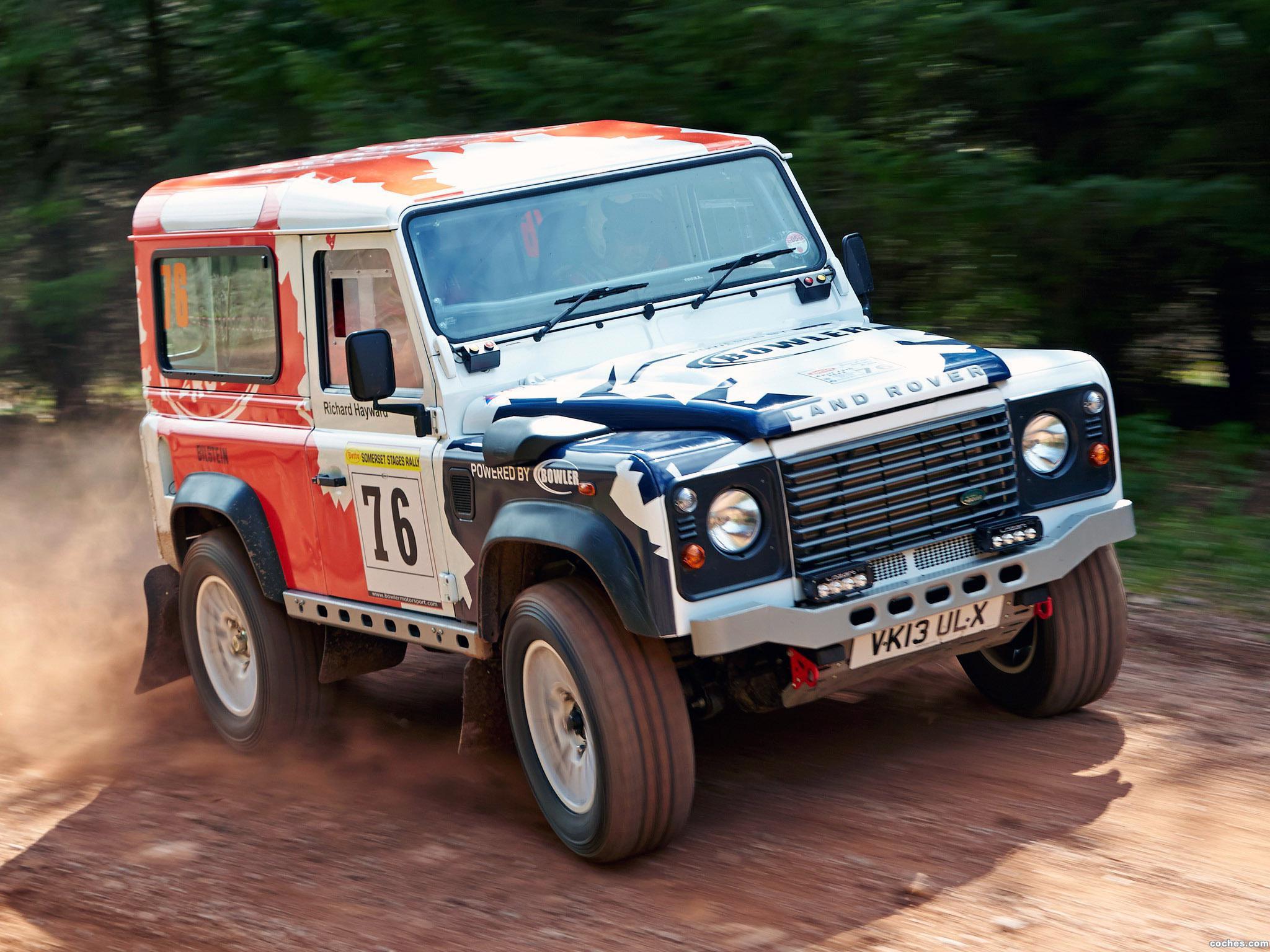 Foto 6 de Land Rover Defender Challenge by Bowler 2014