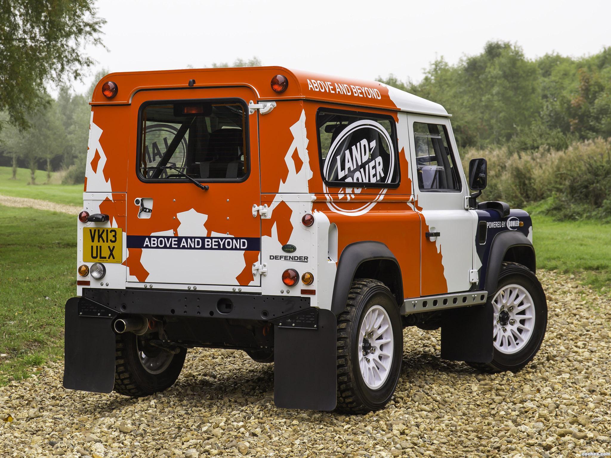 Foto 18 de Land Rover Defender Challenge by Bowler 2014