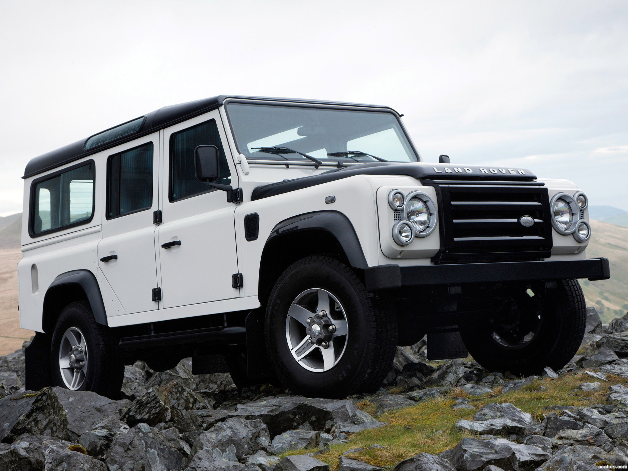 Foto 0 de Land Rover Defender Ice 2009