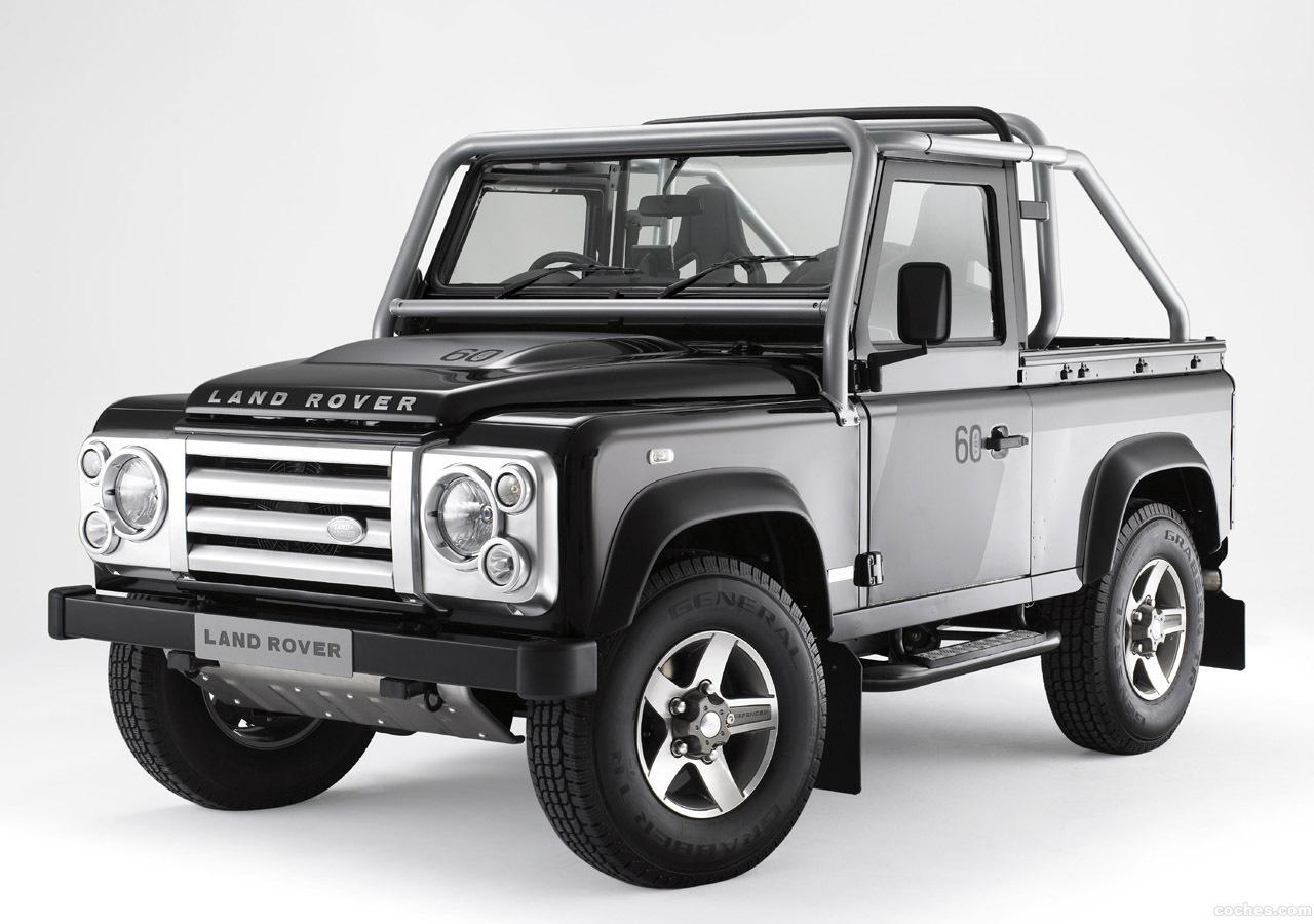 Foto 0 de Land Rover Defender Comercial Pick Up 2007
