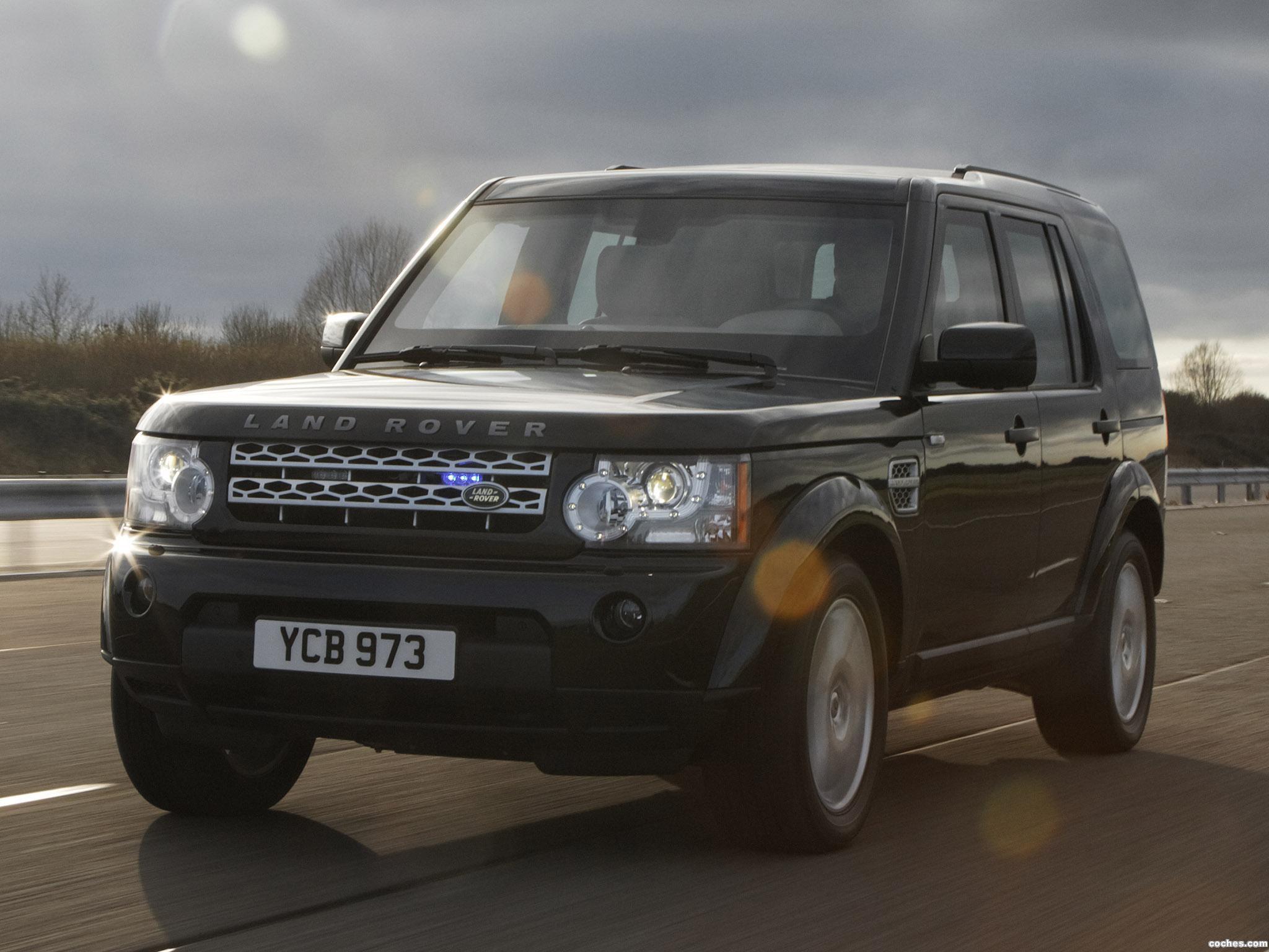 Foto 2 de Discovery 4 Armoured 2011