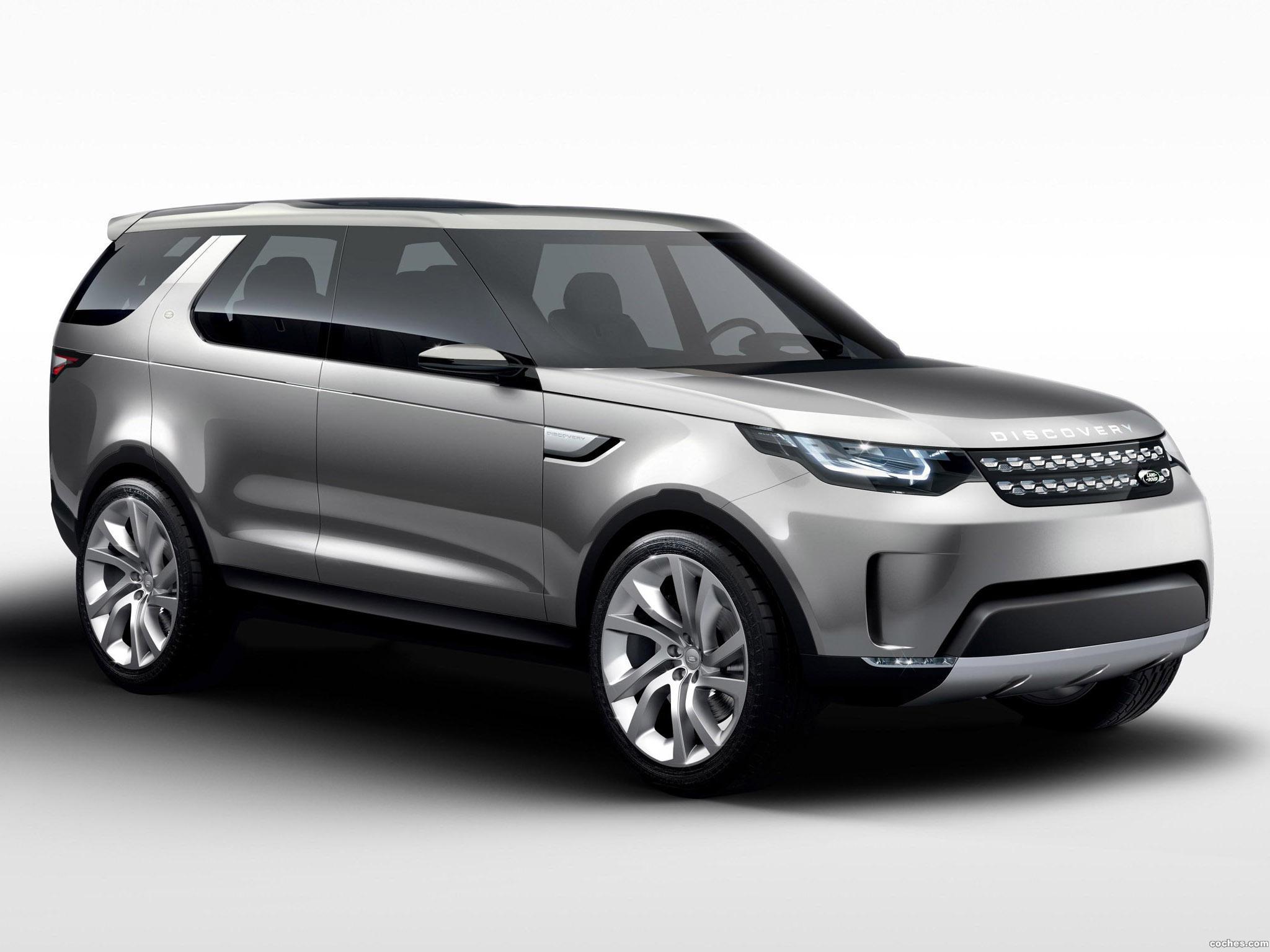 Foto 0 de Land Rover Discovery Vision Concept 2014