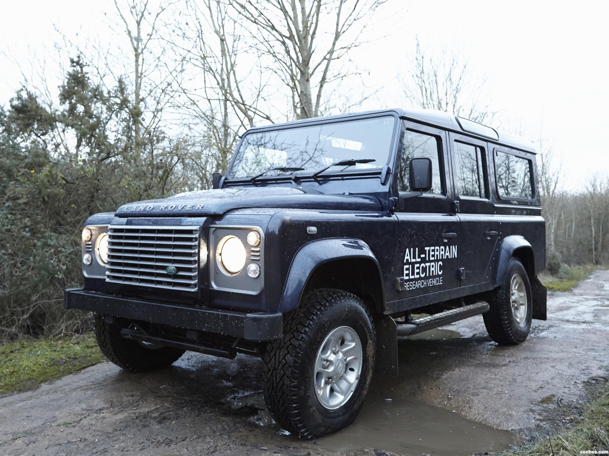 Foto 0 de Land Rover Electric Defender Research Vehicle 2013