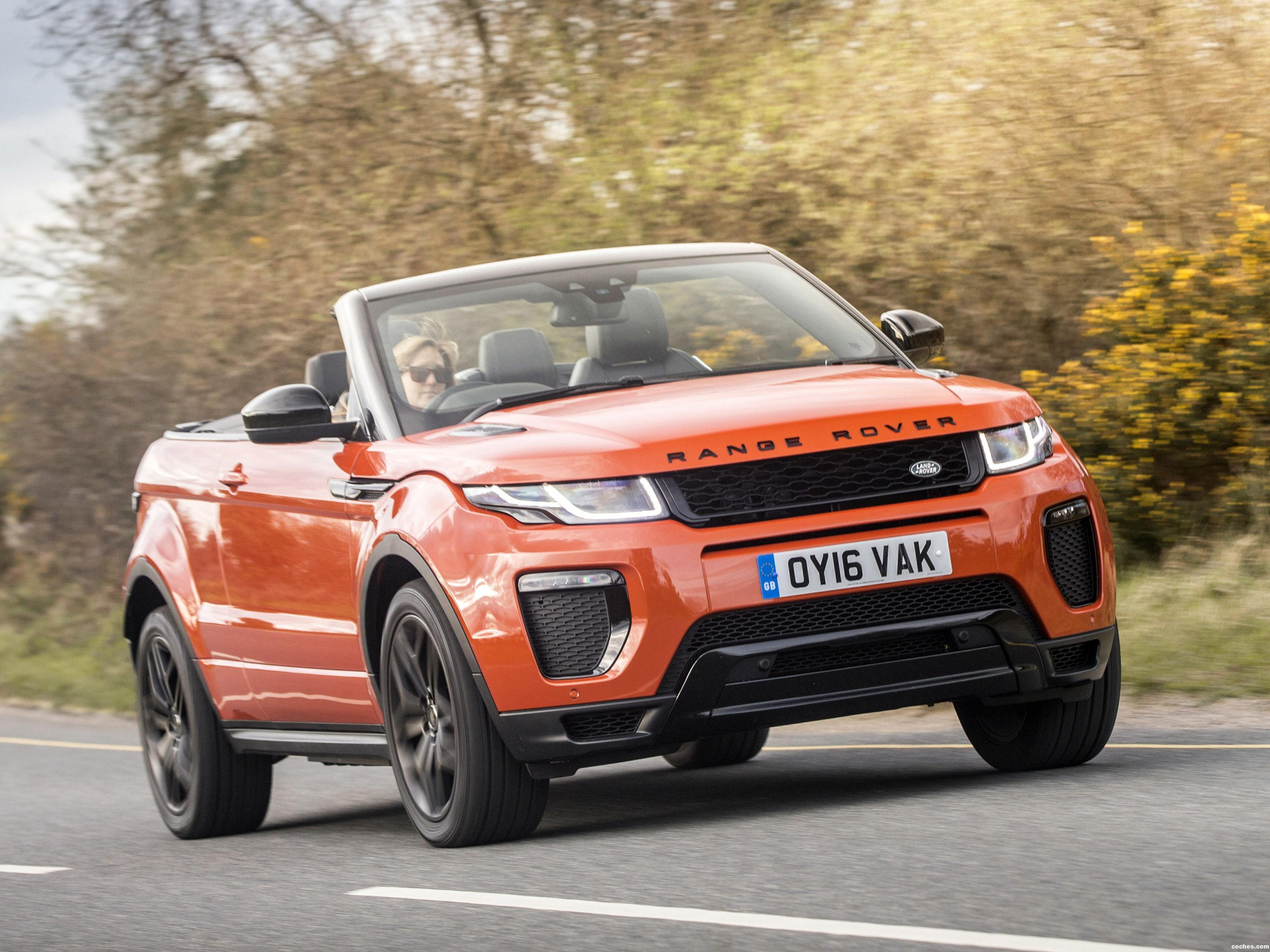 Foto 0 de Land Rover Evoque Convertible UK 2016