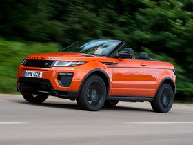 Ver foto 2 de Land Rover Evoque Convertible UK 2016