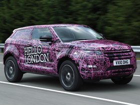 Ver foto 8 de Land Rover Evoque Prototype Camo 2010