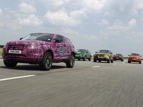 Ver foto 7 de Land Rover Evoque Prototype Camo 2010