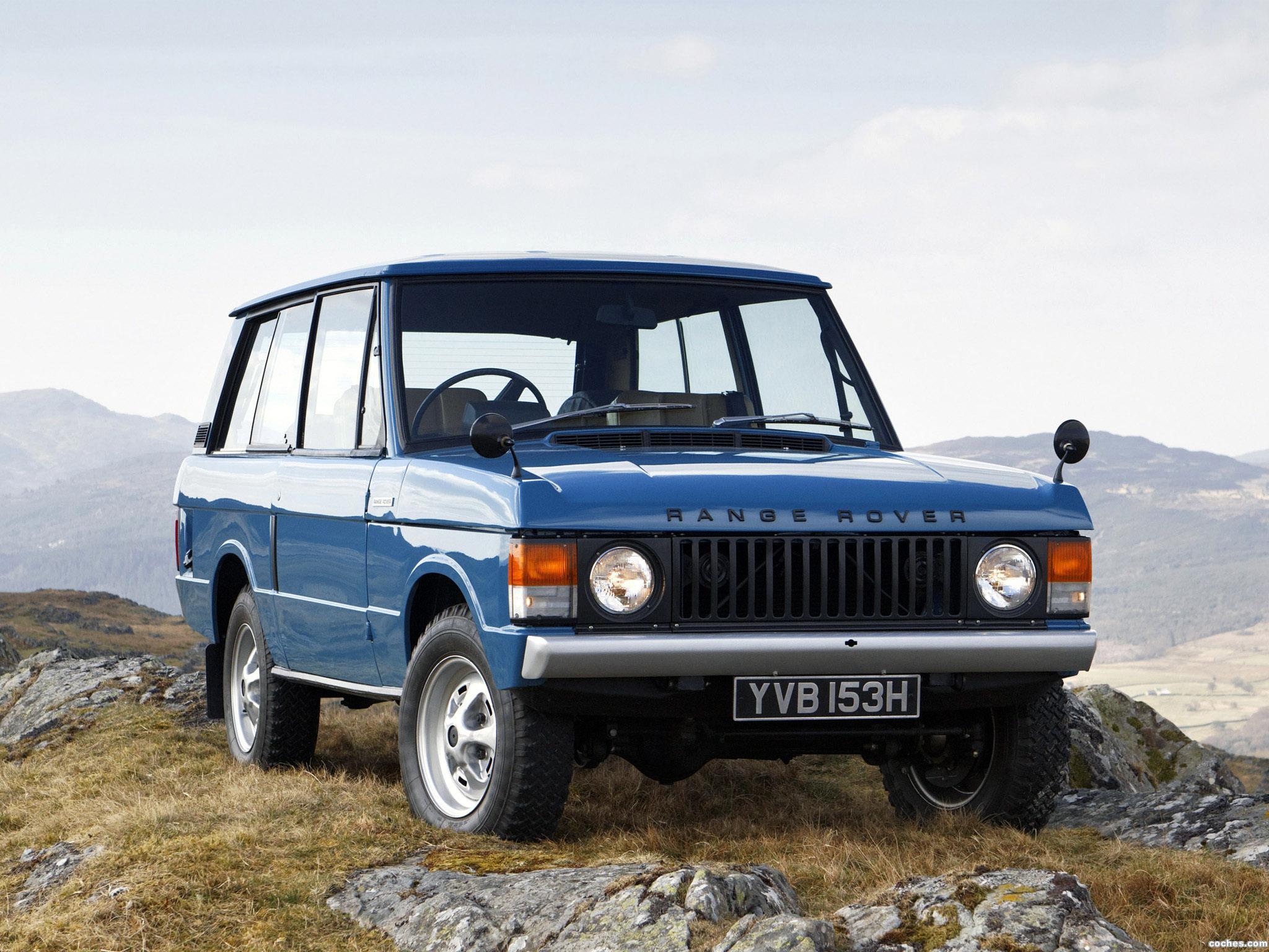 Foto 0 de Land Rover Range Rover 3 puertas 1970