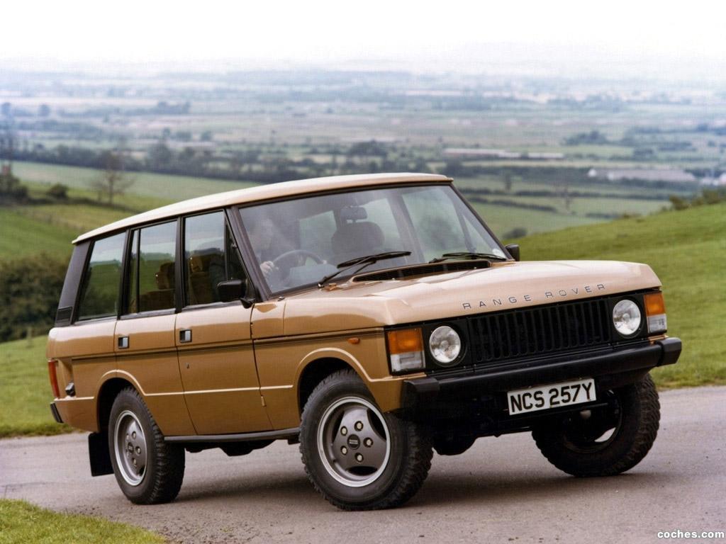 Foto 0 de Land Rover Range Rover 5 puertas 1981