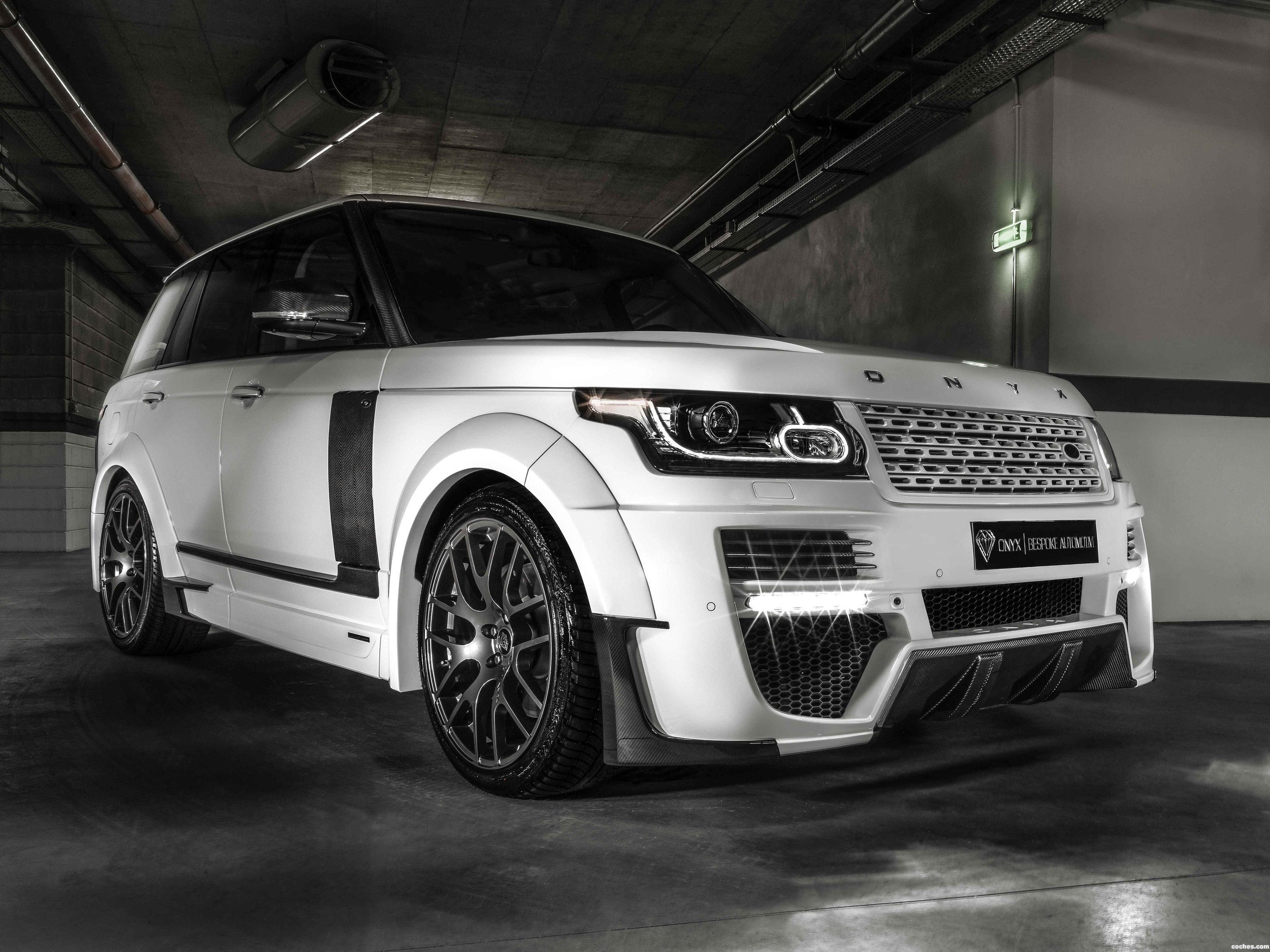 Foto 0 de Land Rover Range Rover Autobiography ONYX Concept L405 2014