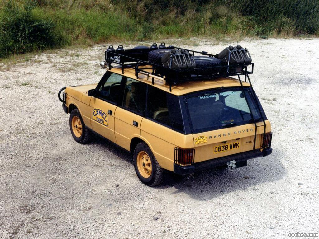 Fotos De Land Rover Range Rover Camel Trophy 1981 Foto 2