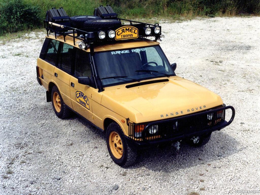 Foto 0 de Land Rover Range Rover Camel Trophy 1981