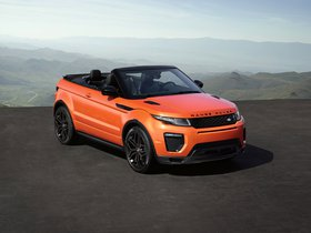 Fotos de Land Rover Range Rover Evoque Convertible 2016