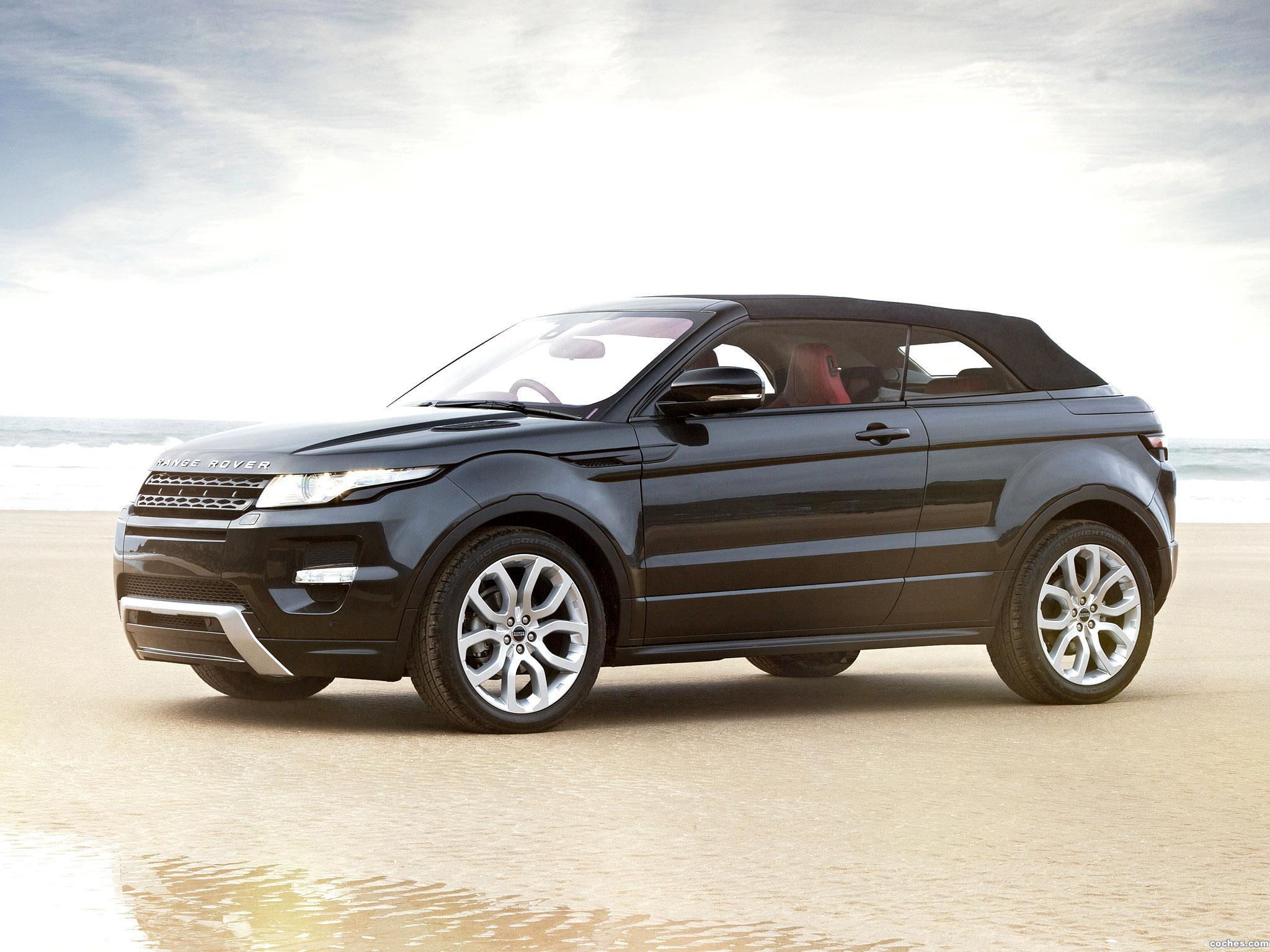 Foto 9 de Land Rover Range Rover Evoque Convertible Concept 2012