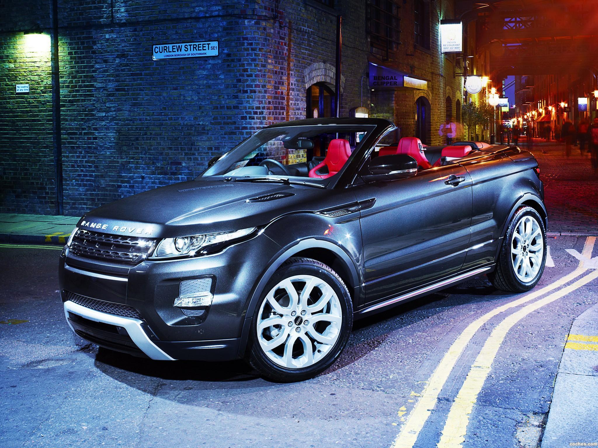 Foto 8 de Land Rover Range Rover Evoque Convertible Concept 2012
