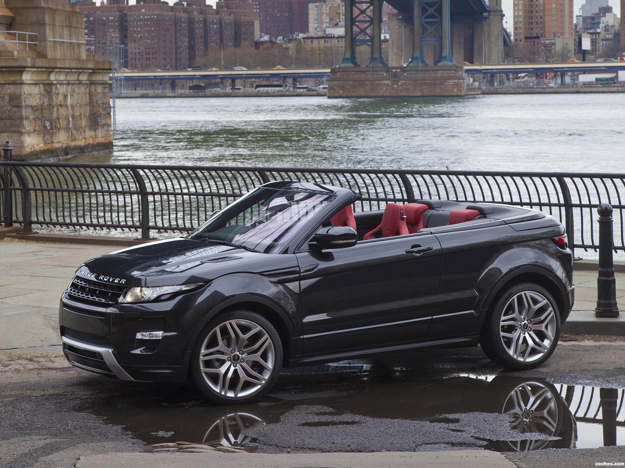 Foto 6 de Land Rover Range Rover Evoque Convertible Concept 2012