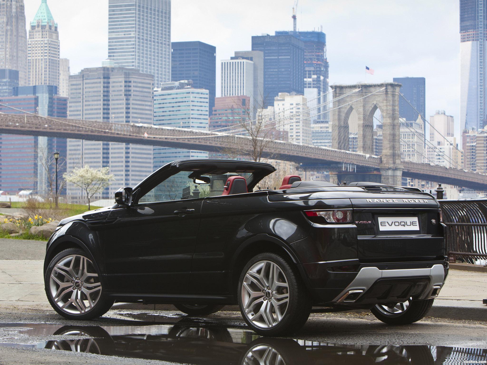 Foto 4 de Land Rover Range Rover Evoque Convertible Concept 2012