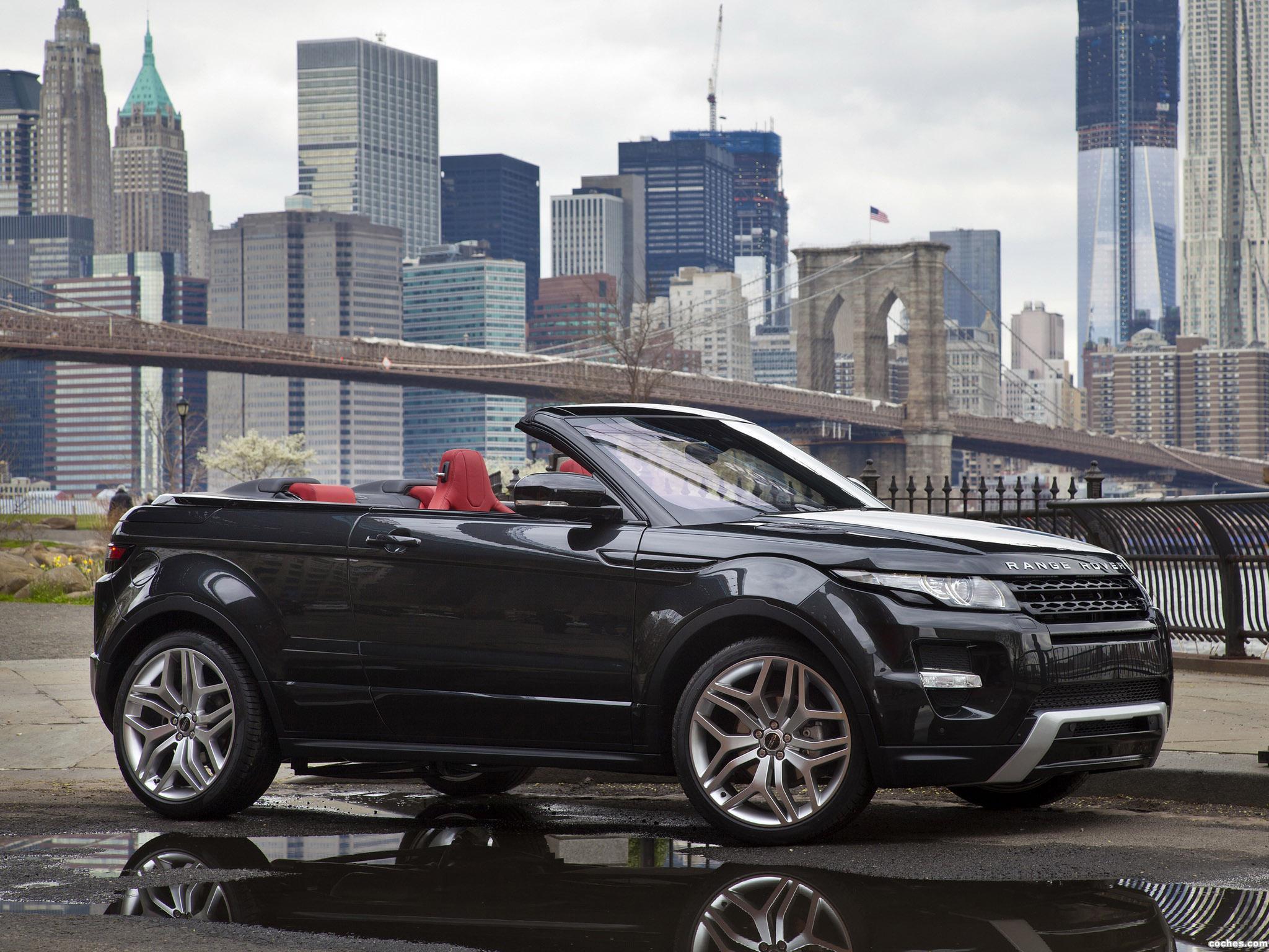 Foto 0 de Land Rover Range Rover Evoque Convertible Concept 2012