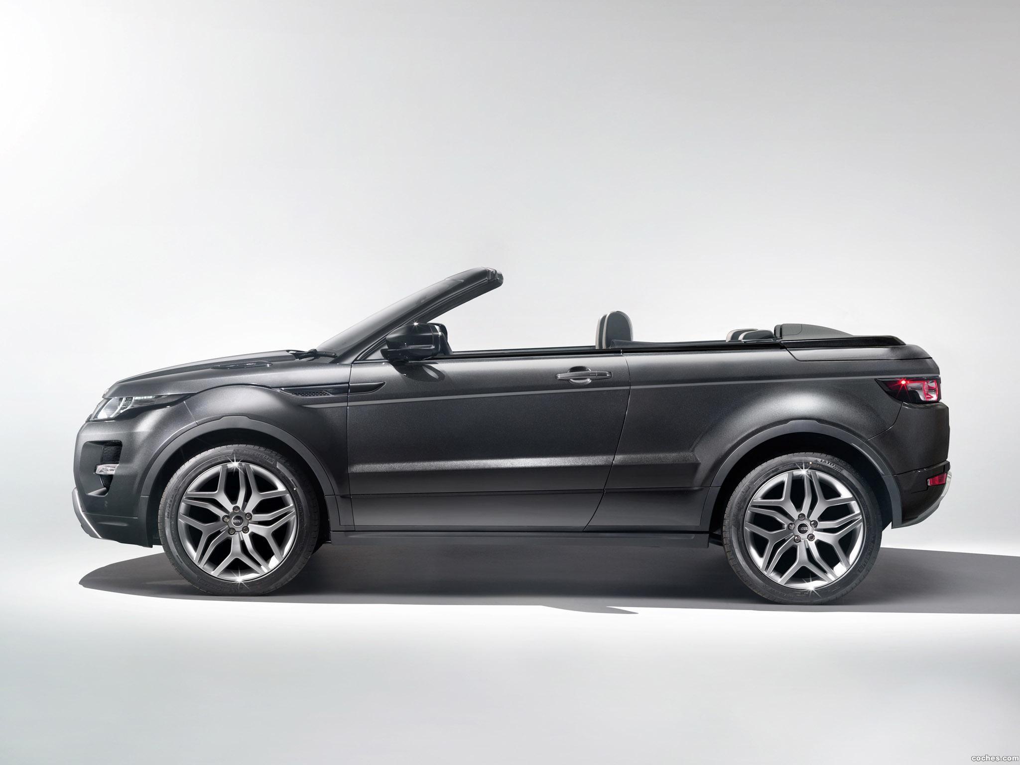 Foto 18 de Land Rover Range Rover Evoque Convertible Concept 2012