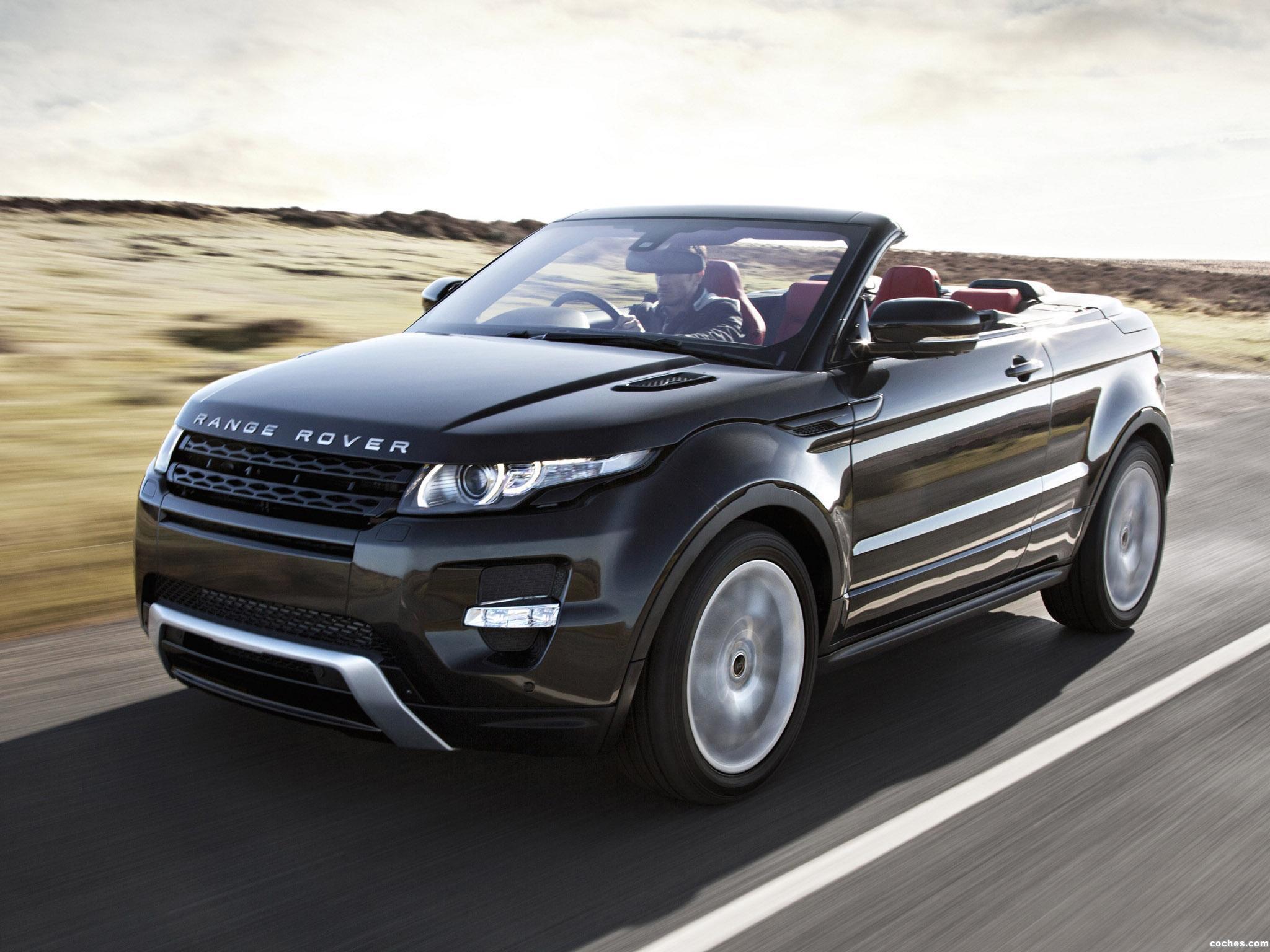 Foto 14 de Land Rover Range Rover Evoque Convertible Concept 2012
