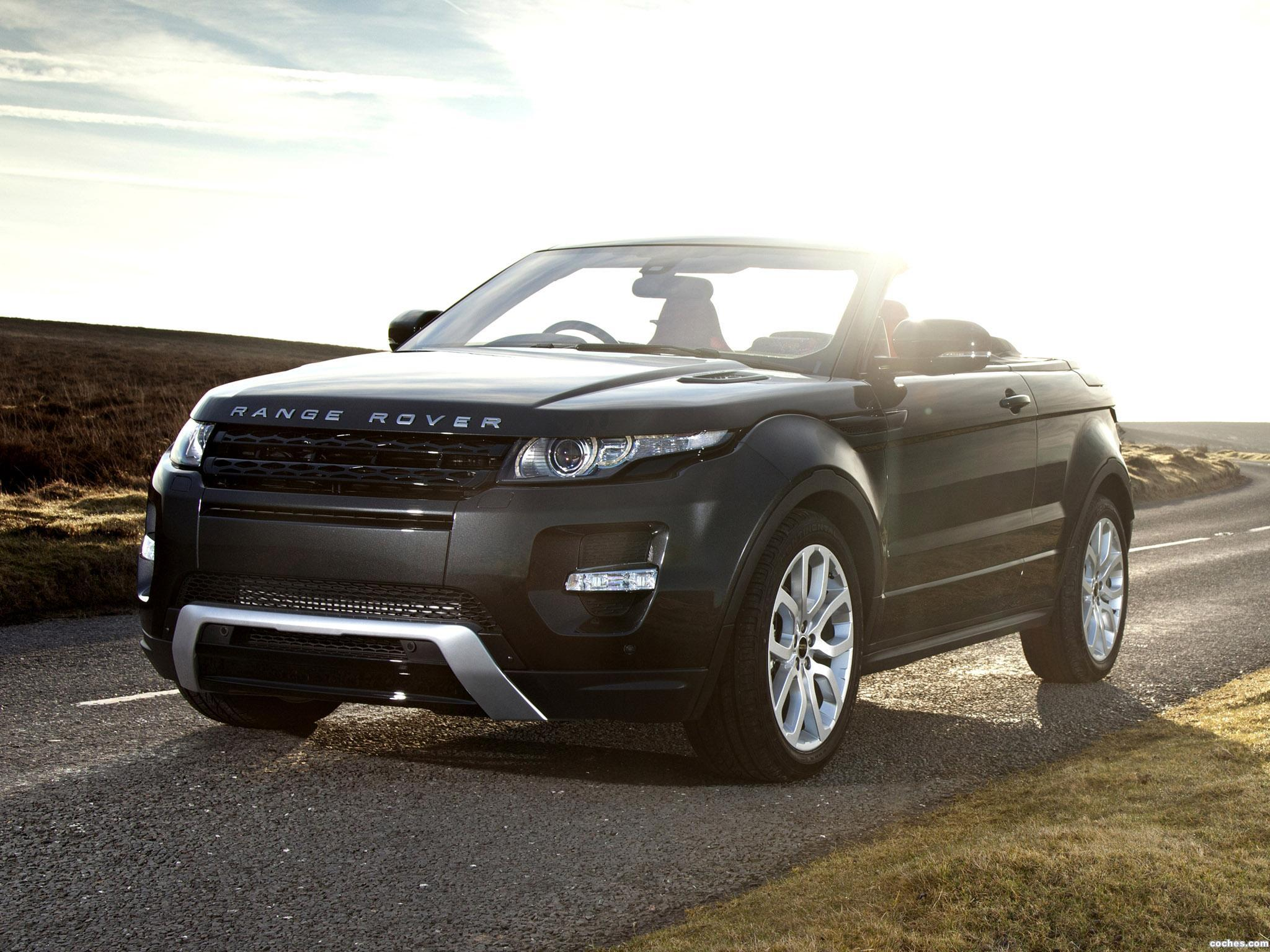 Foto 12 de Land Rover Range Rover Evoque Convertible Concept 2012