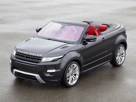 Ver foto 3 de Land Rover Range Rover Evoque Convertible Concept 2012