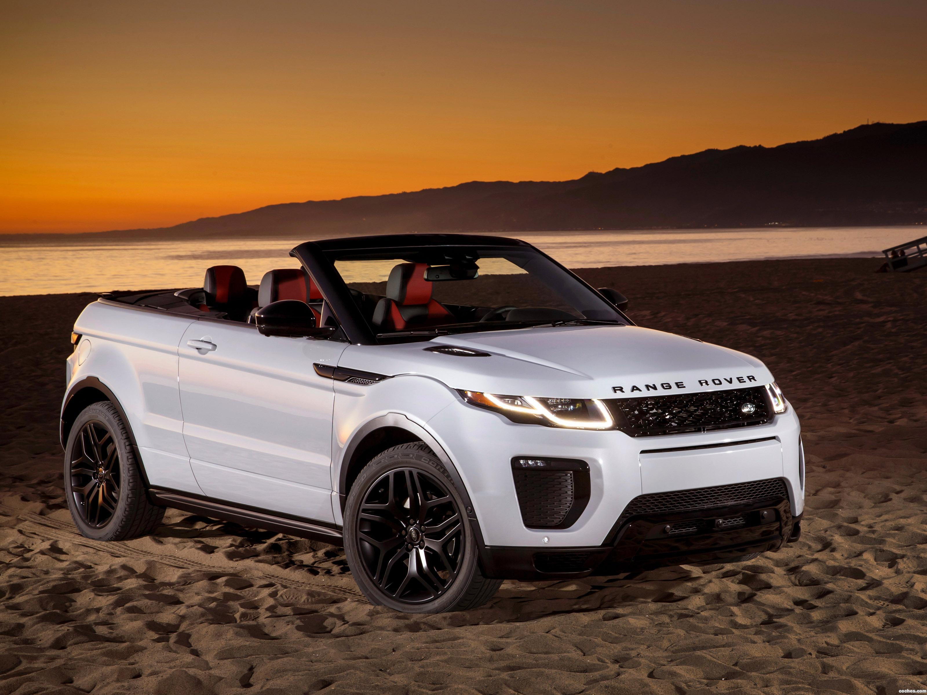 Foto 0 de Land Rover Range Rover Evoque Convertible USA 2016