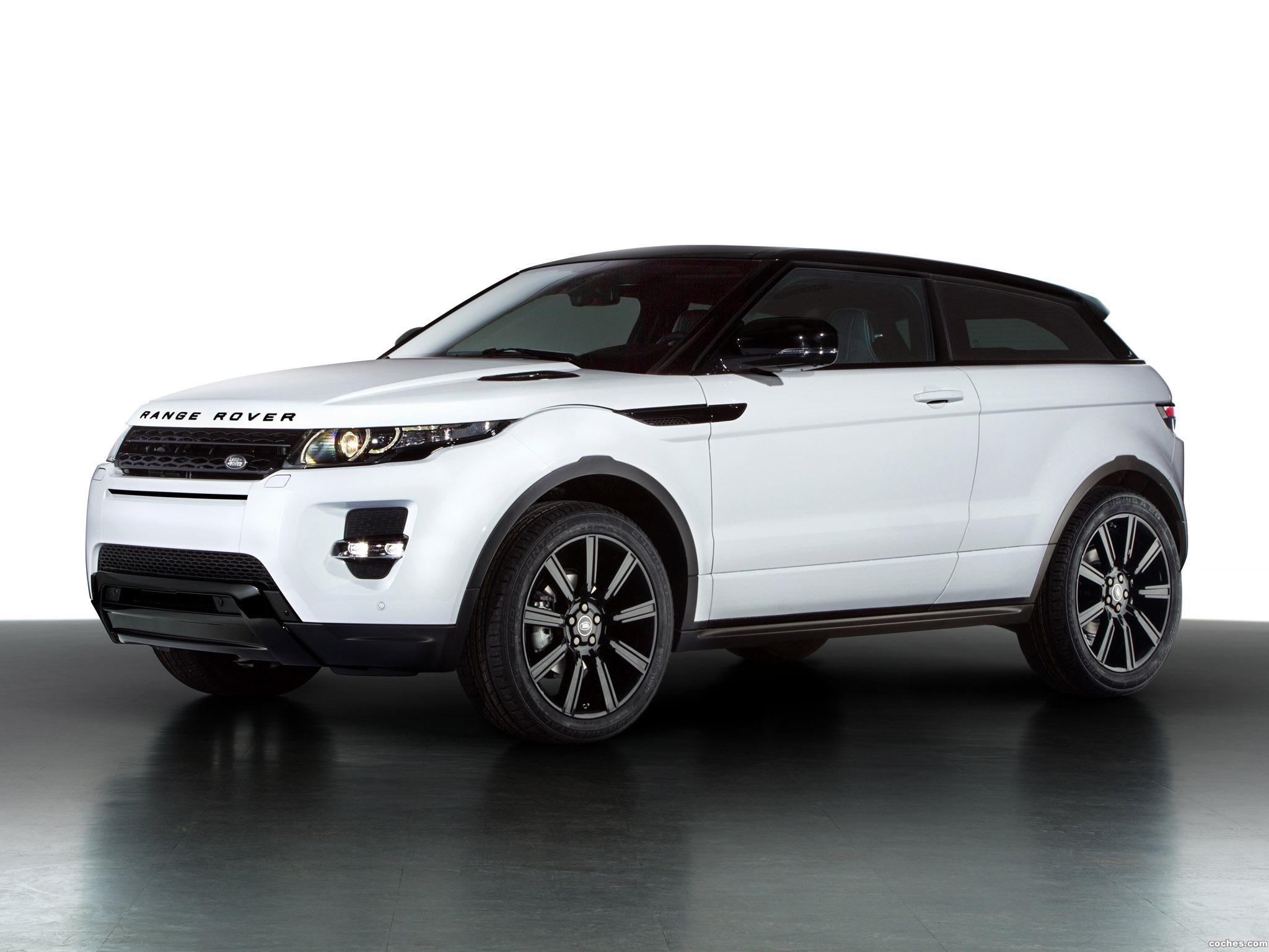 Foto 0 de Land Rover Range Rover Evoque Coupe Black Design 2013
