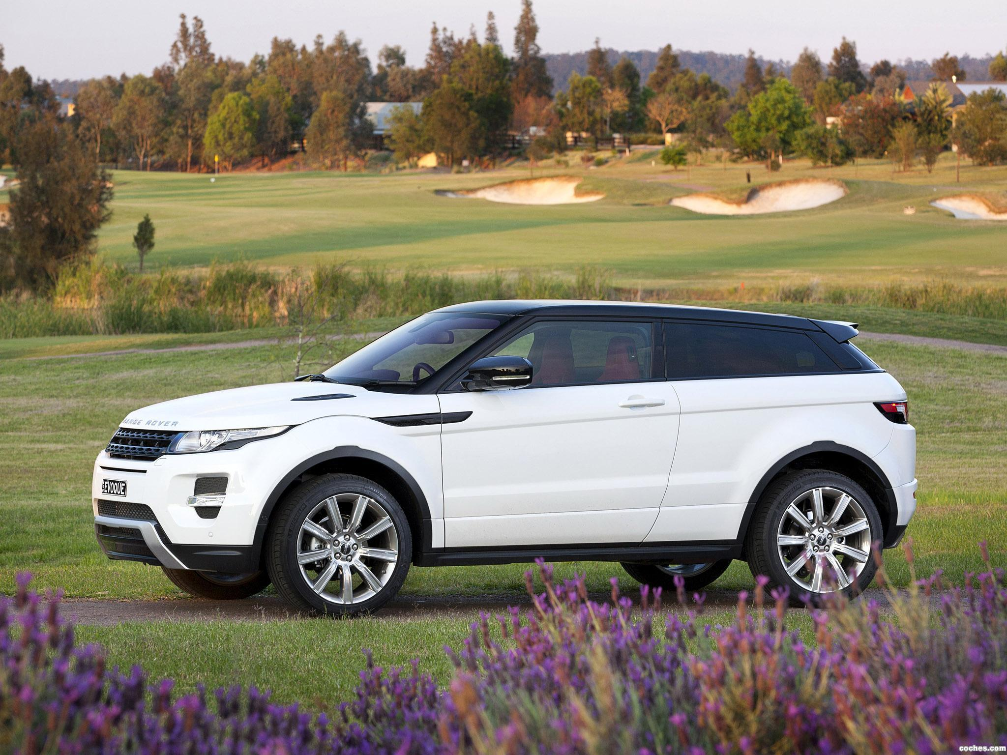 Foto 9 de Range Rover Evoque Coupe Dynamic 2011
