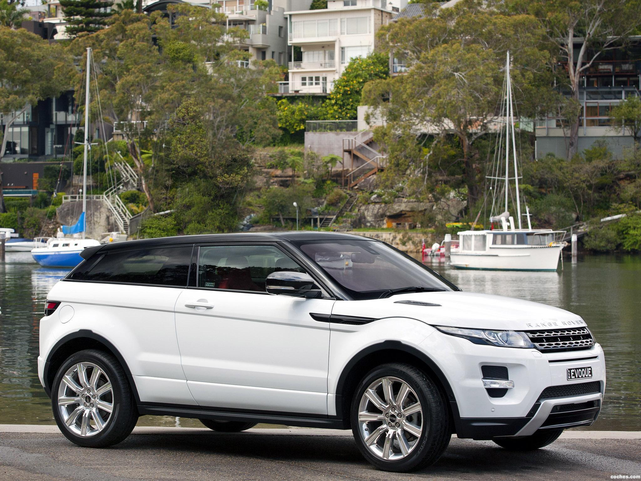 Foto 7 de Range Rover Evoque Coupe Dynamic 2011