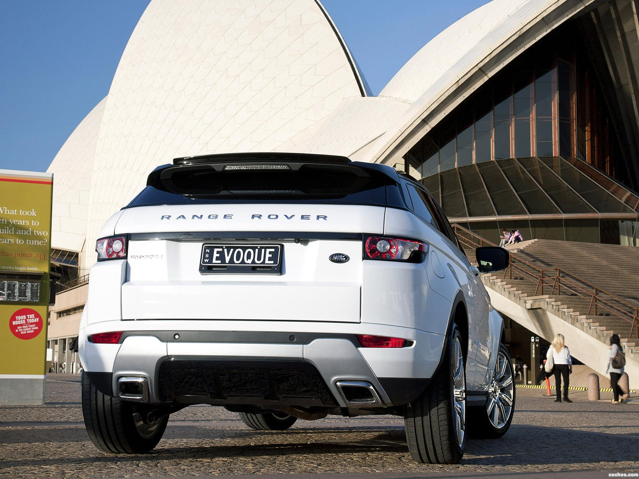 Foto 3 de Range Rover Evoque Coupe Dynamic 2011