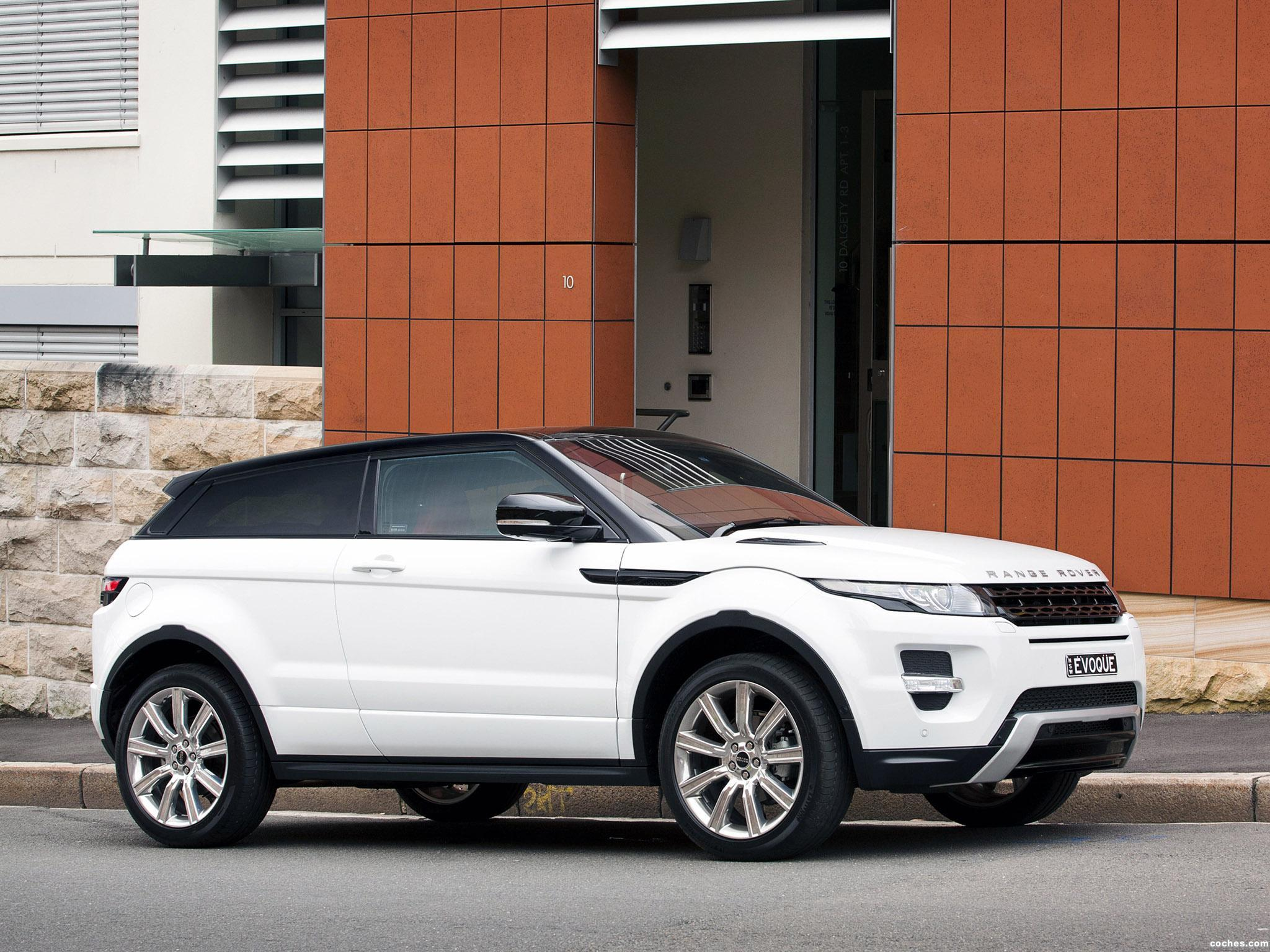 Foto 25 de Range Rover Evoque Coupe Dynamic 2011