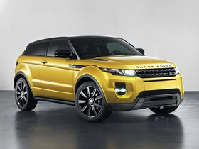Fotos de Land Rover Range Rover Evoque Coupe Sicilian Yellow 2013