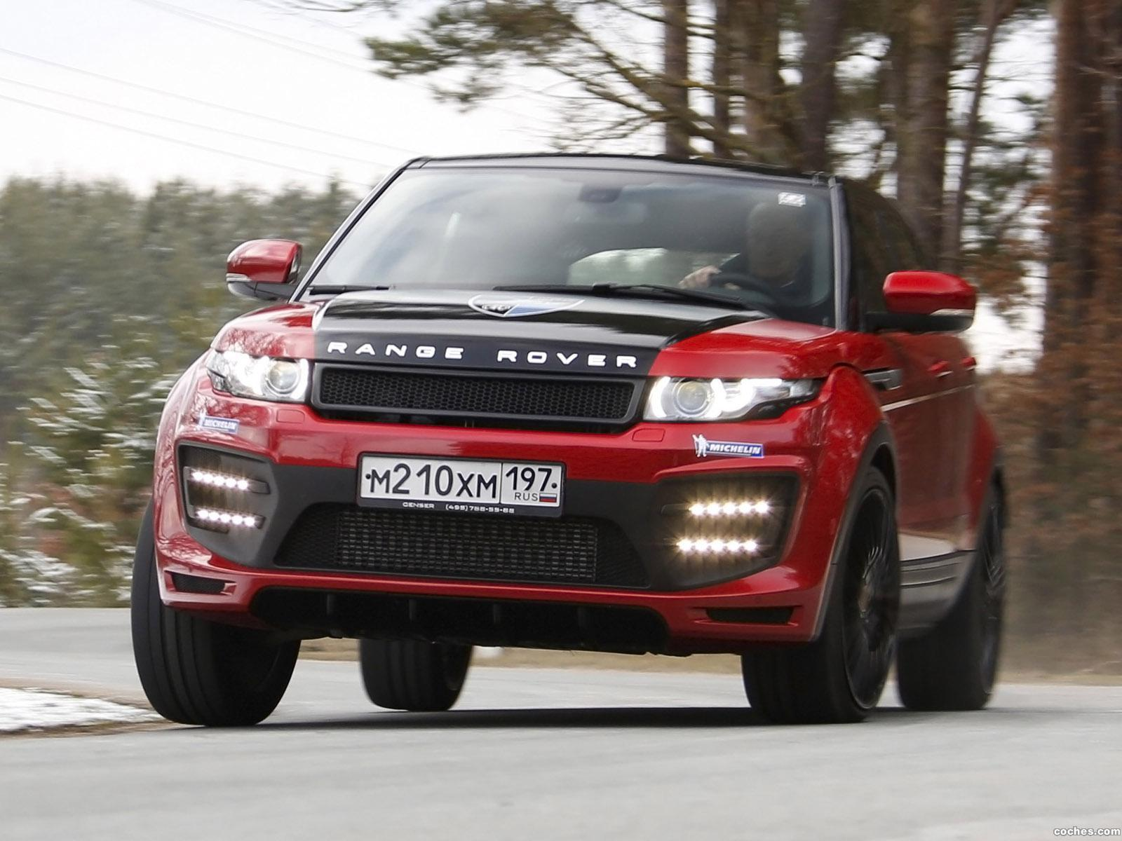 Foto 0 de Land Rover Evoque Larte Design 2014