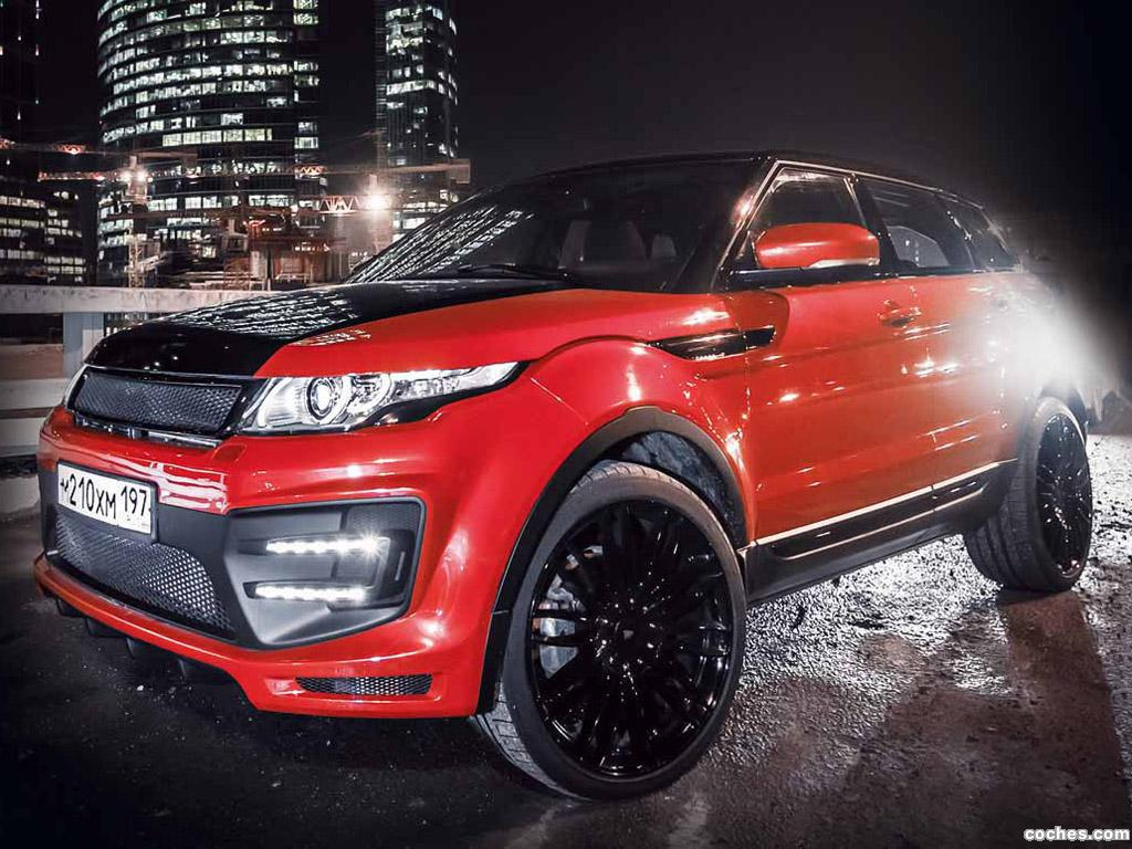 Foto 7 de Land Rover Evoque Larte Design 2014